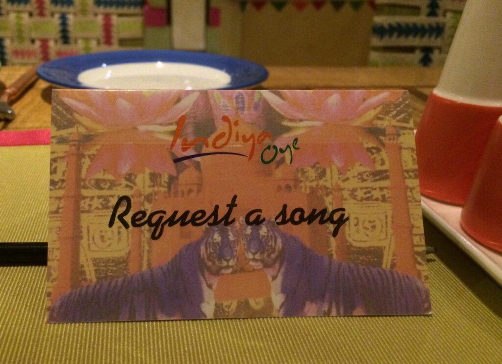 Indiya Oye Request a Song