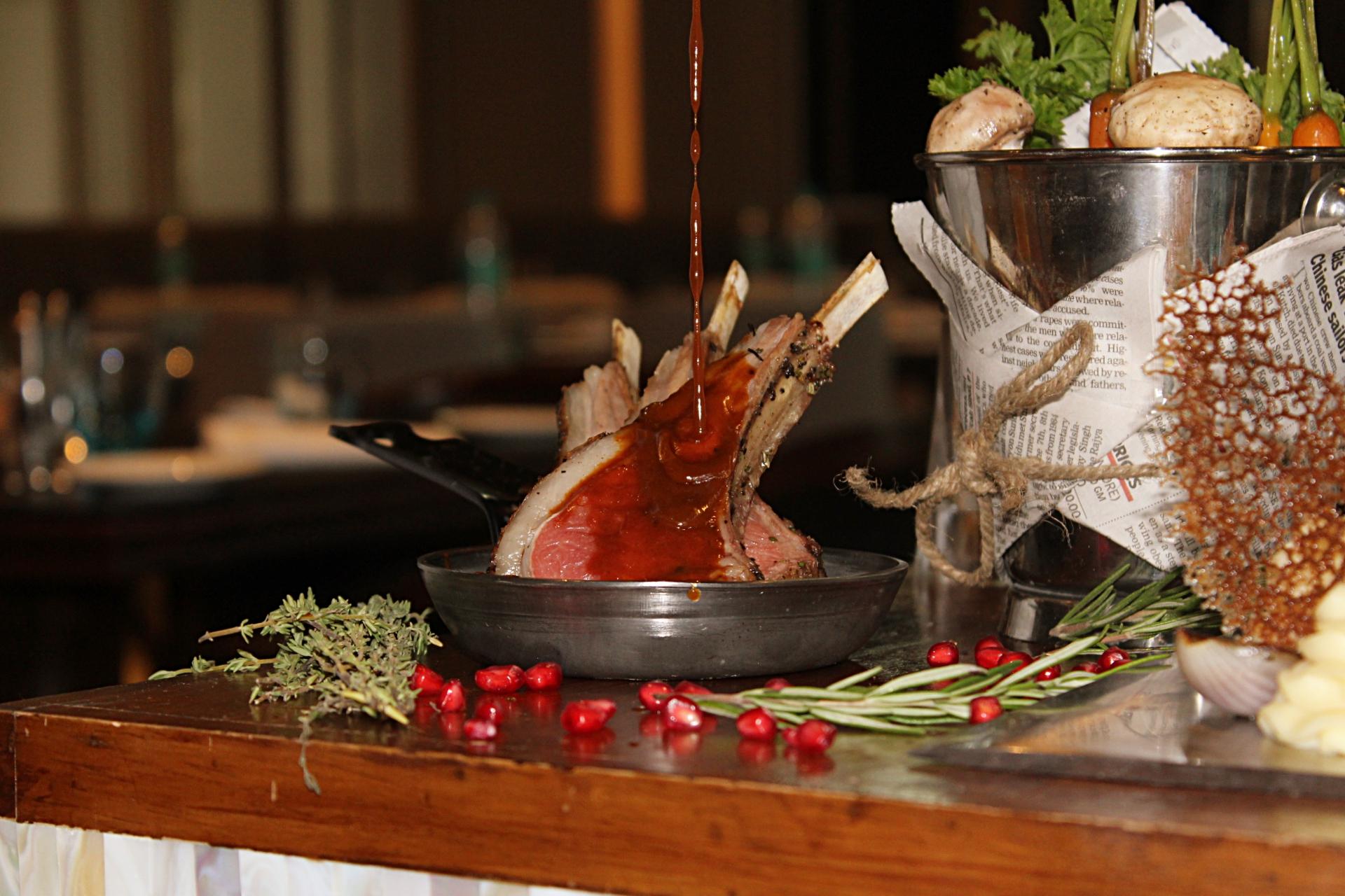 Indore Marriott European Lamb Dish