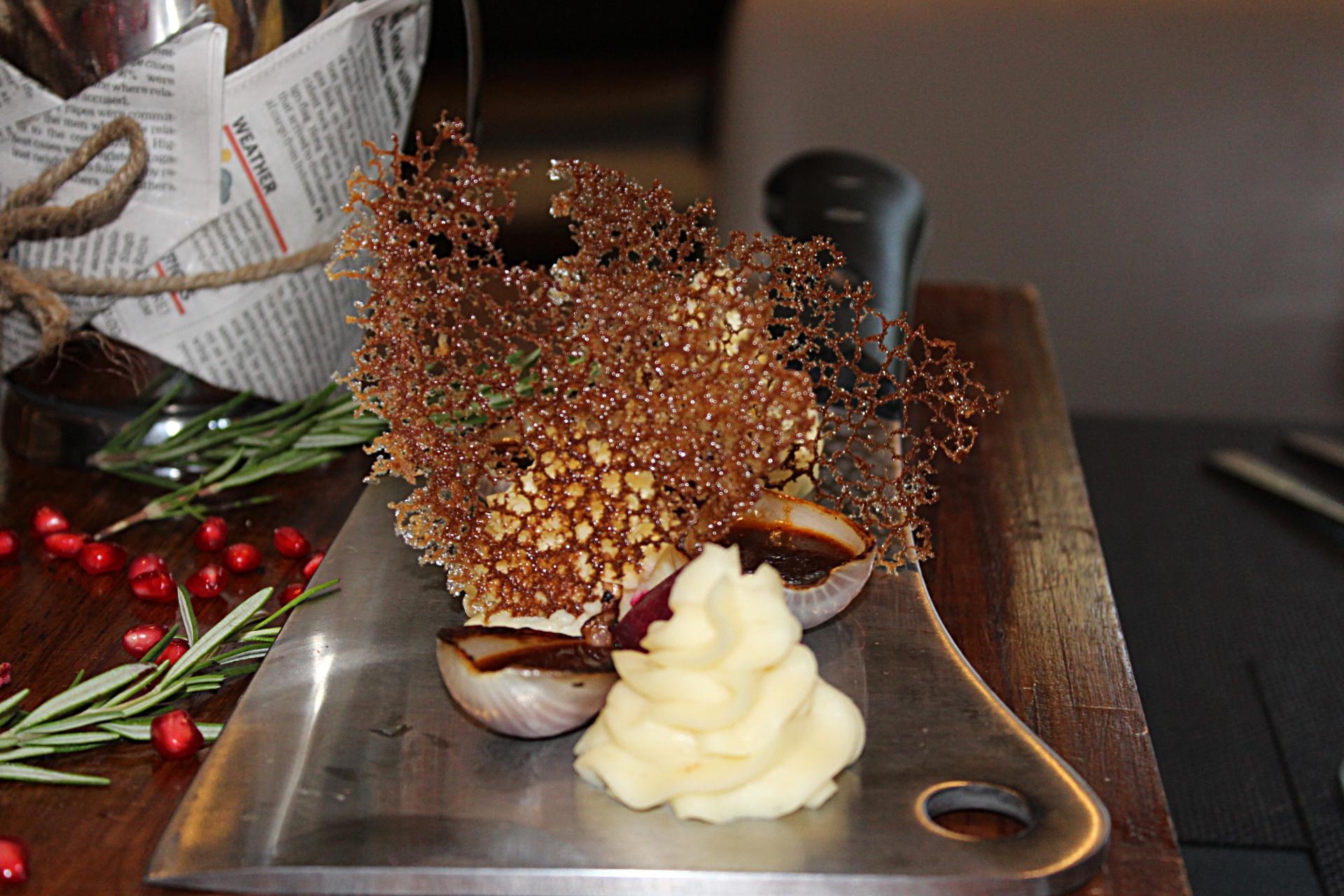 Marriott Indore Lamb Dish