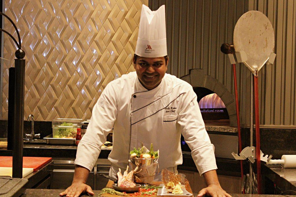 Sous Chef Vicky Kumar