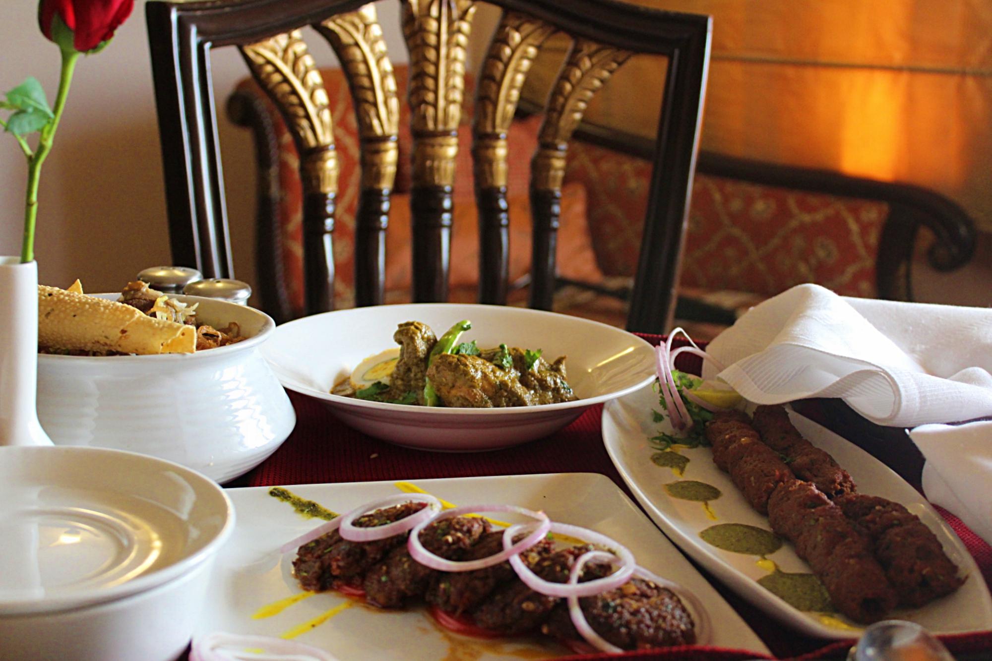 Bhopali Cuisine Noor Us Sabah Palace