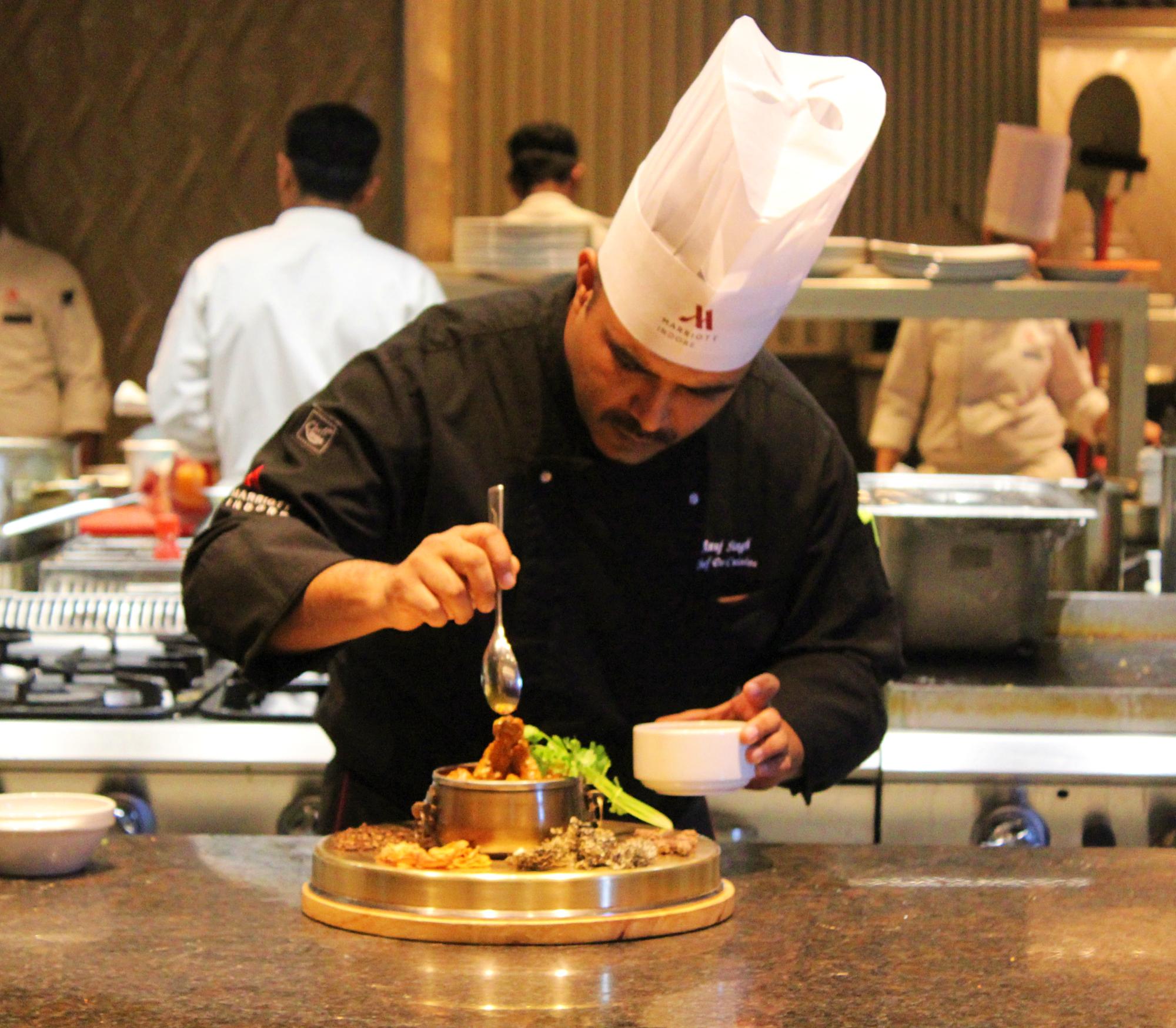 Chef Anuj Singh