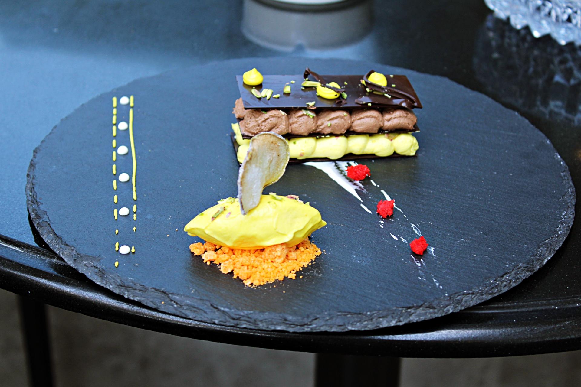 Chocolate Hazelnut Mousse Chef Sikander