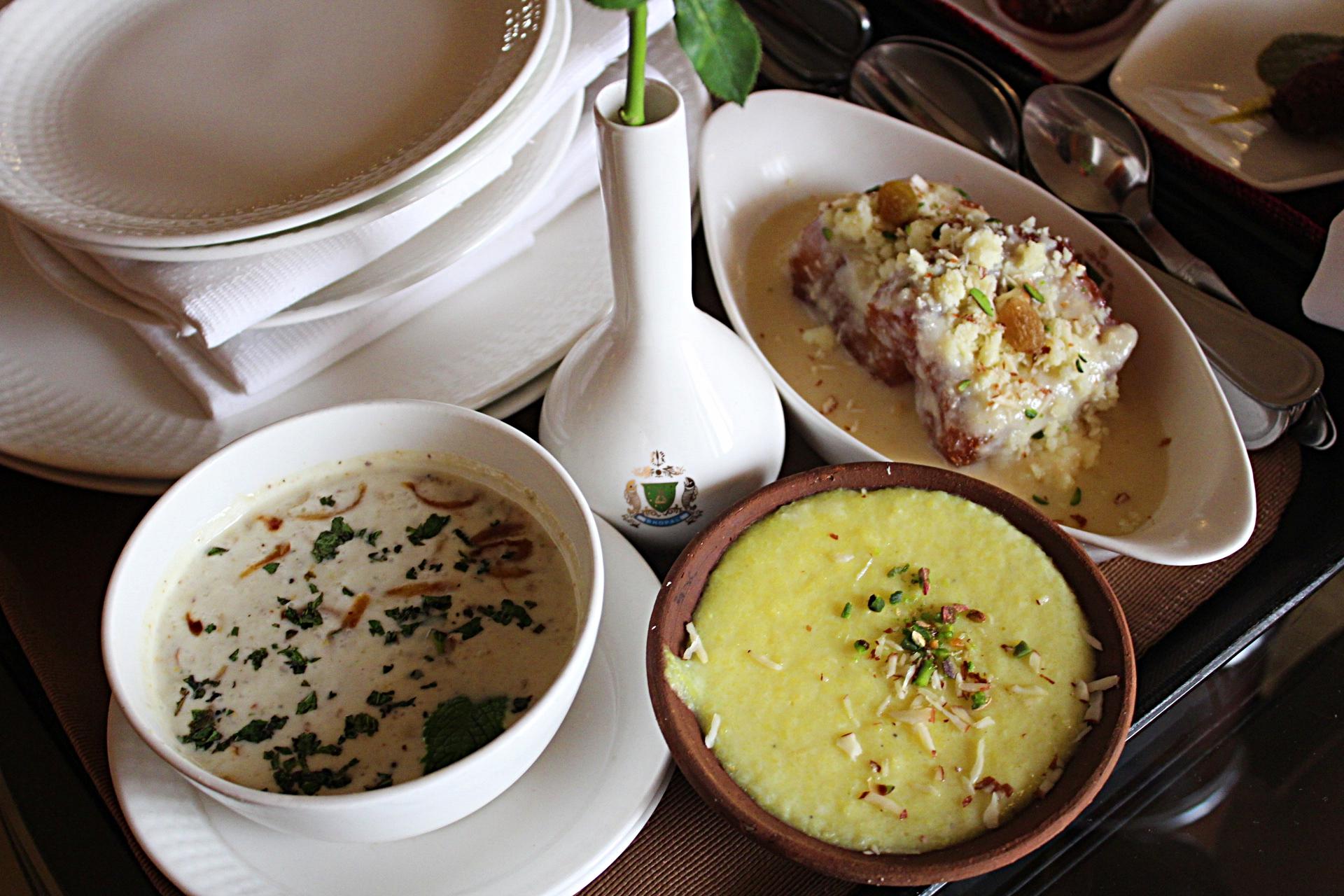 Desserts Noor Us Sabah Palace