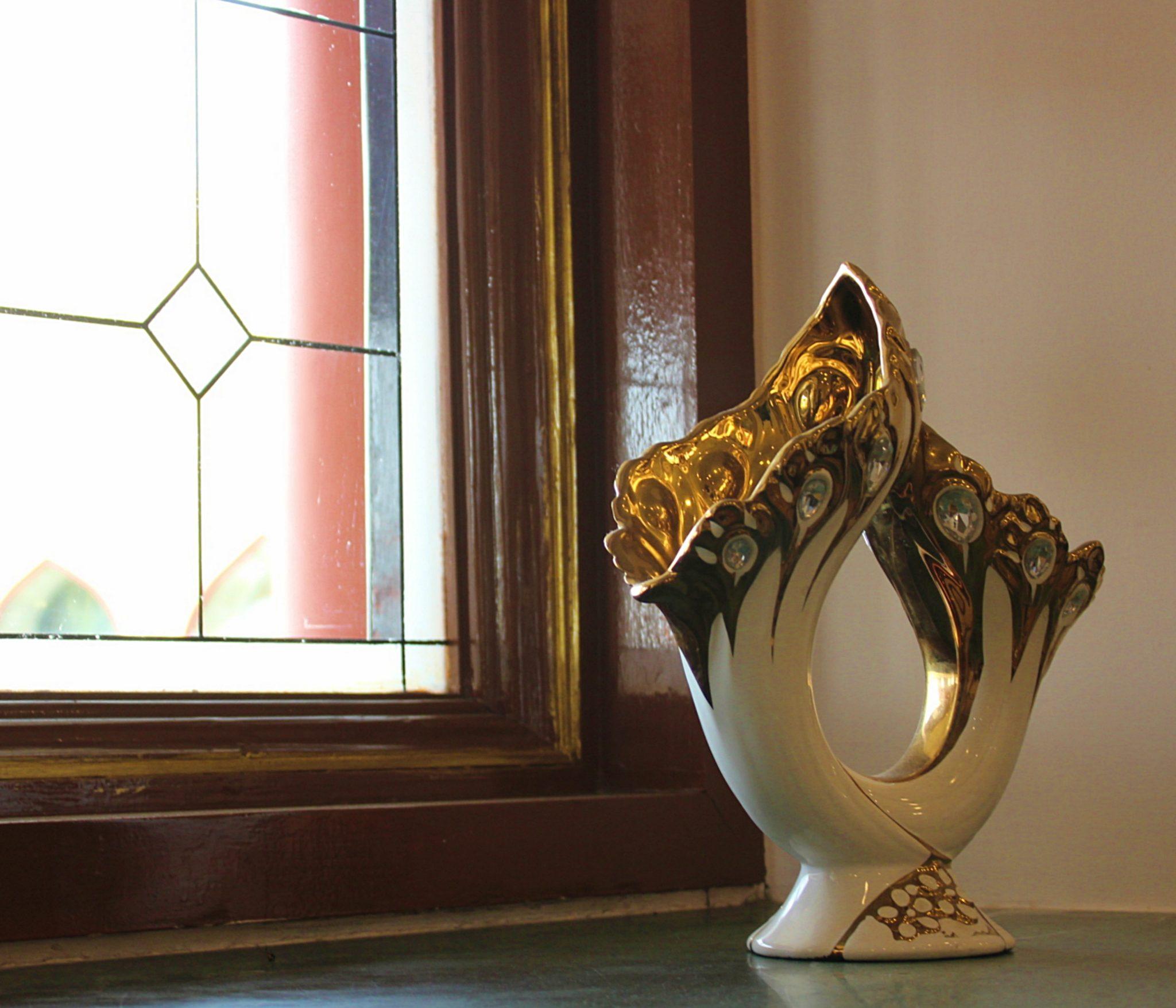 Marble Arch Ceramic Vase