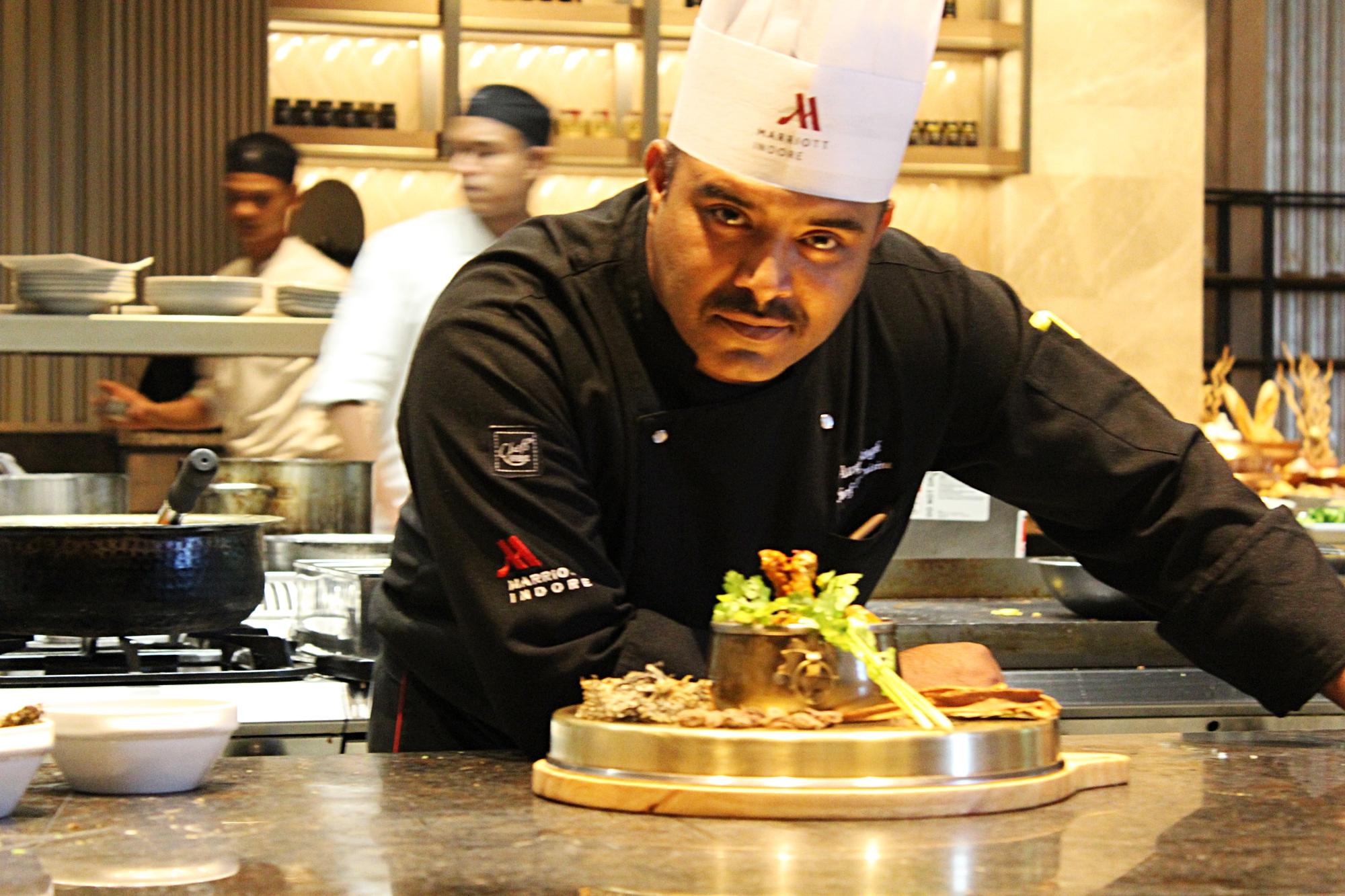 Marriott Chef Anuj Singh