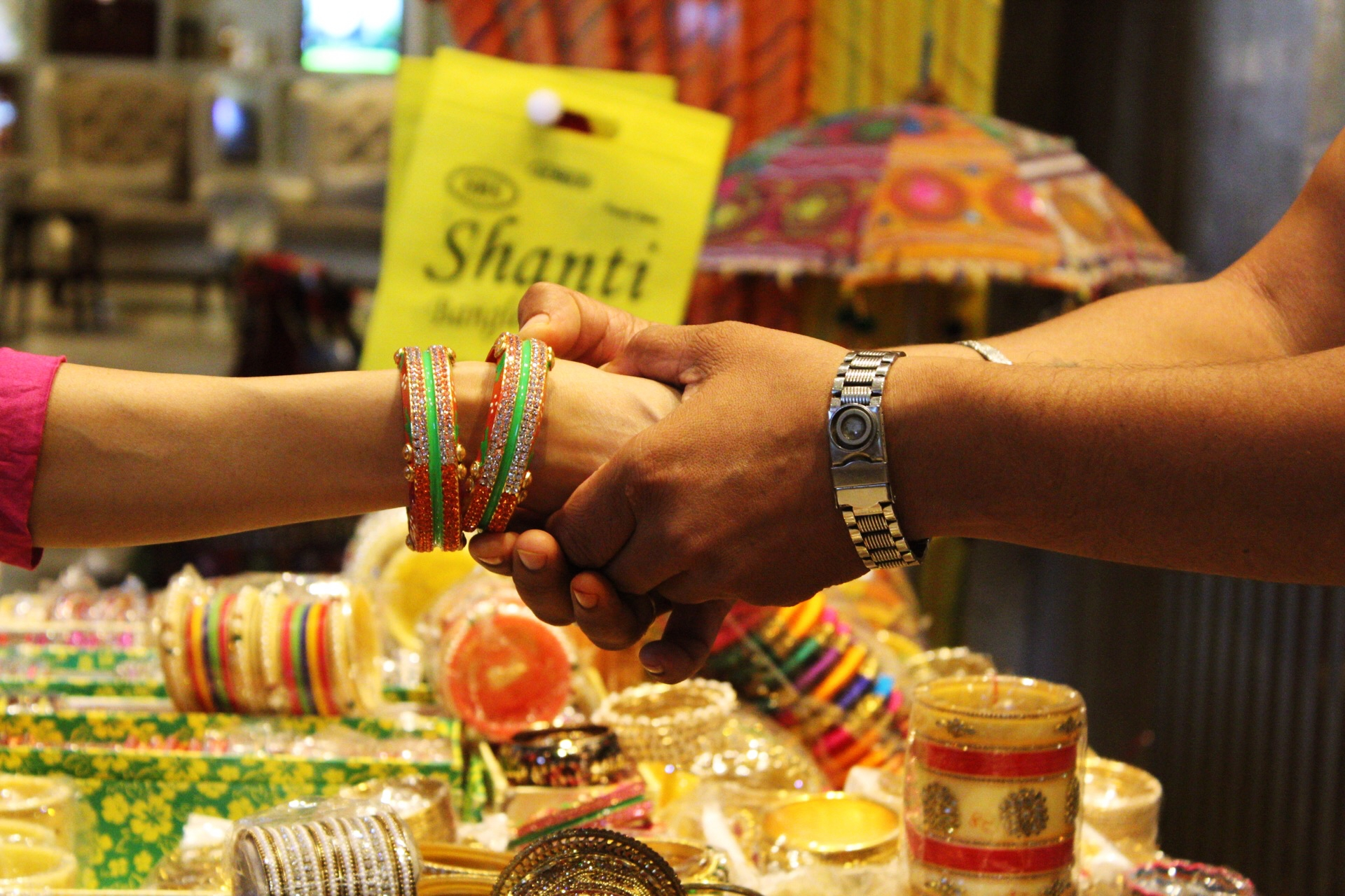 Bangle Stall Marriott Indore