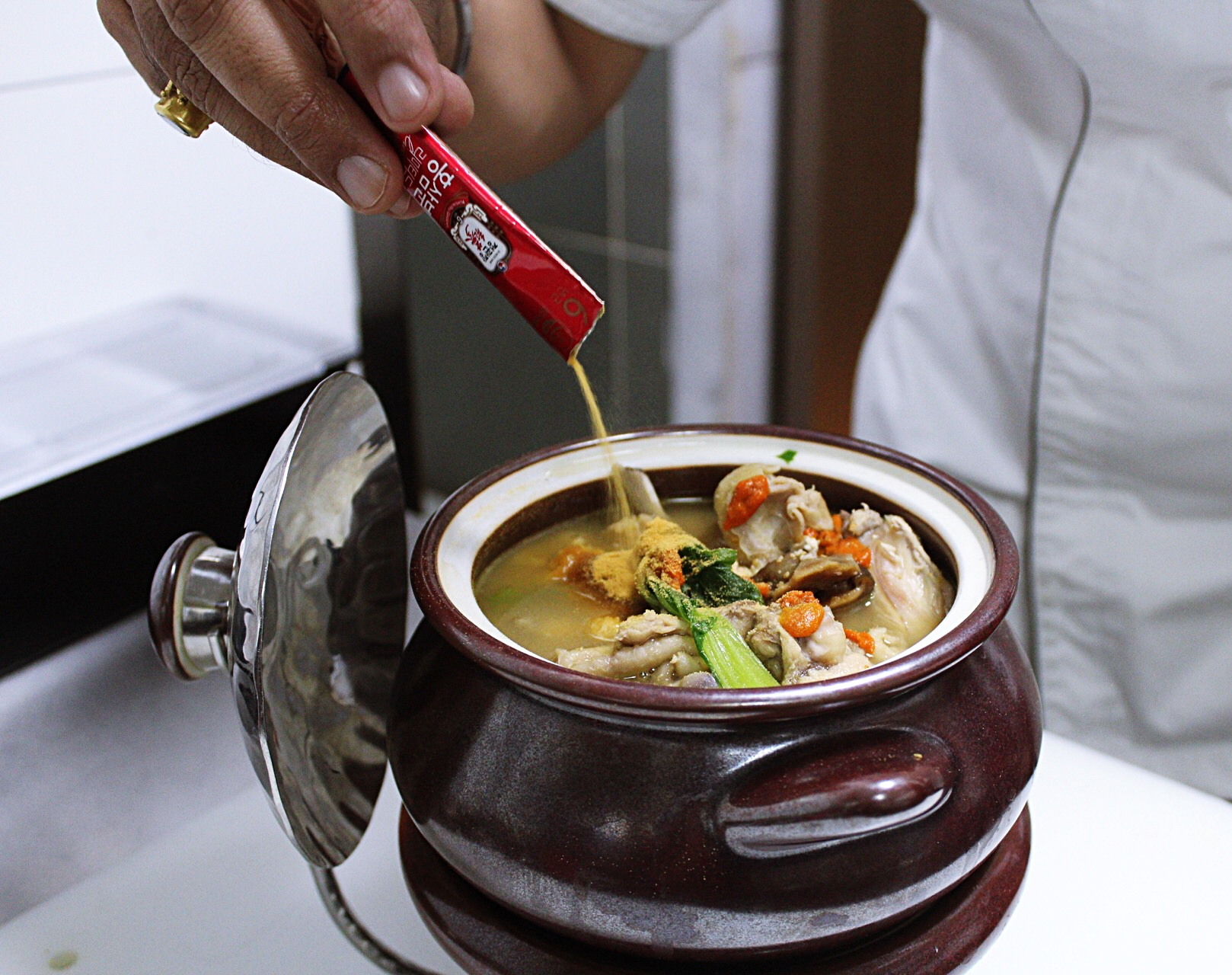 Indore Marriott Ginseng in Soup