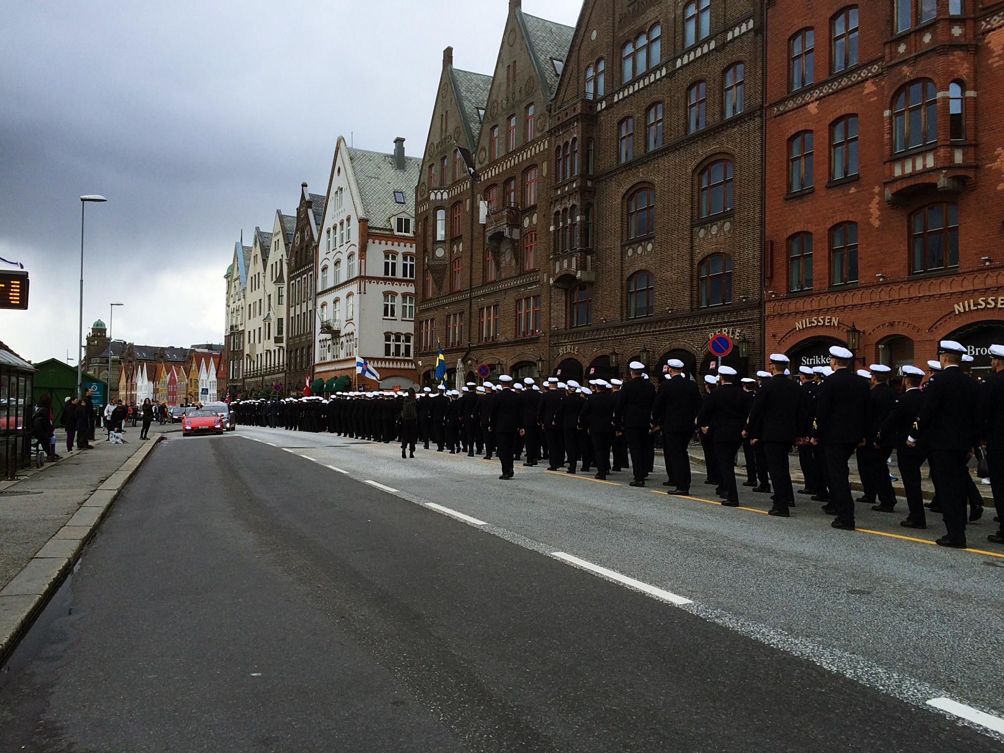 Bryggen Wharf Royal March