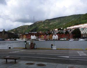 First Glimpse Bryggen
