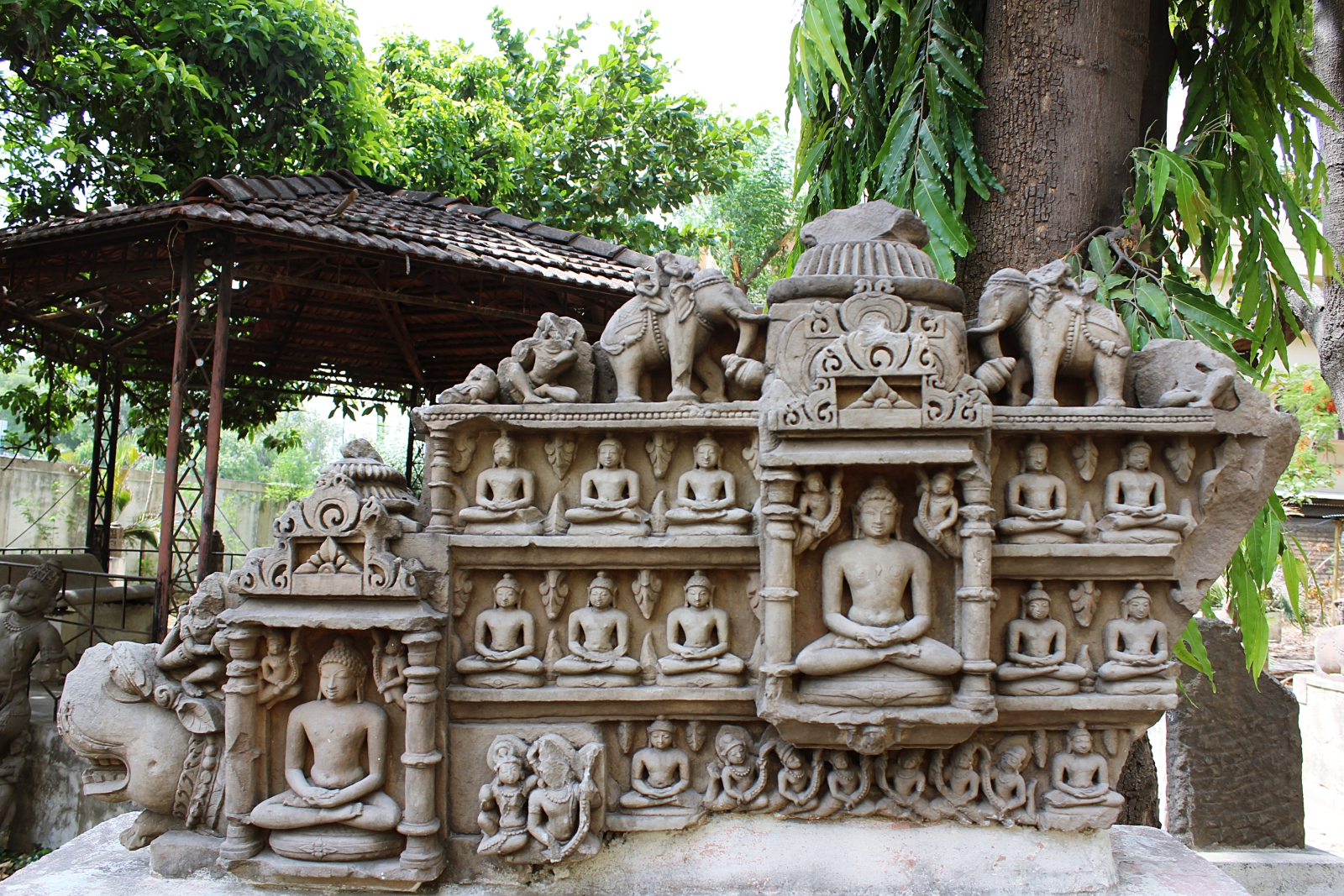 Indore Central Museum Sculptures