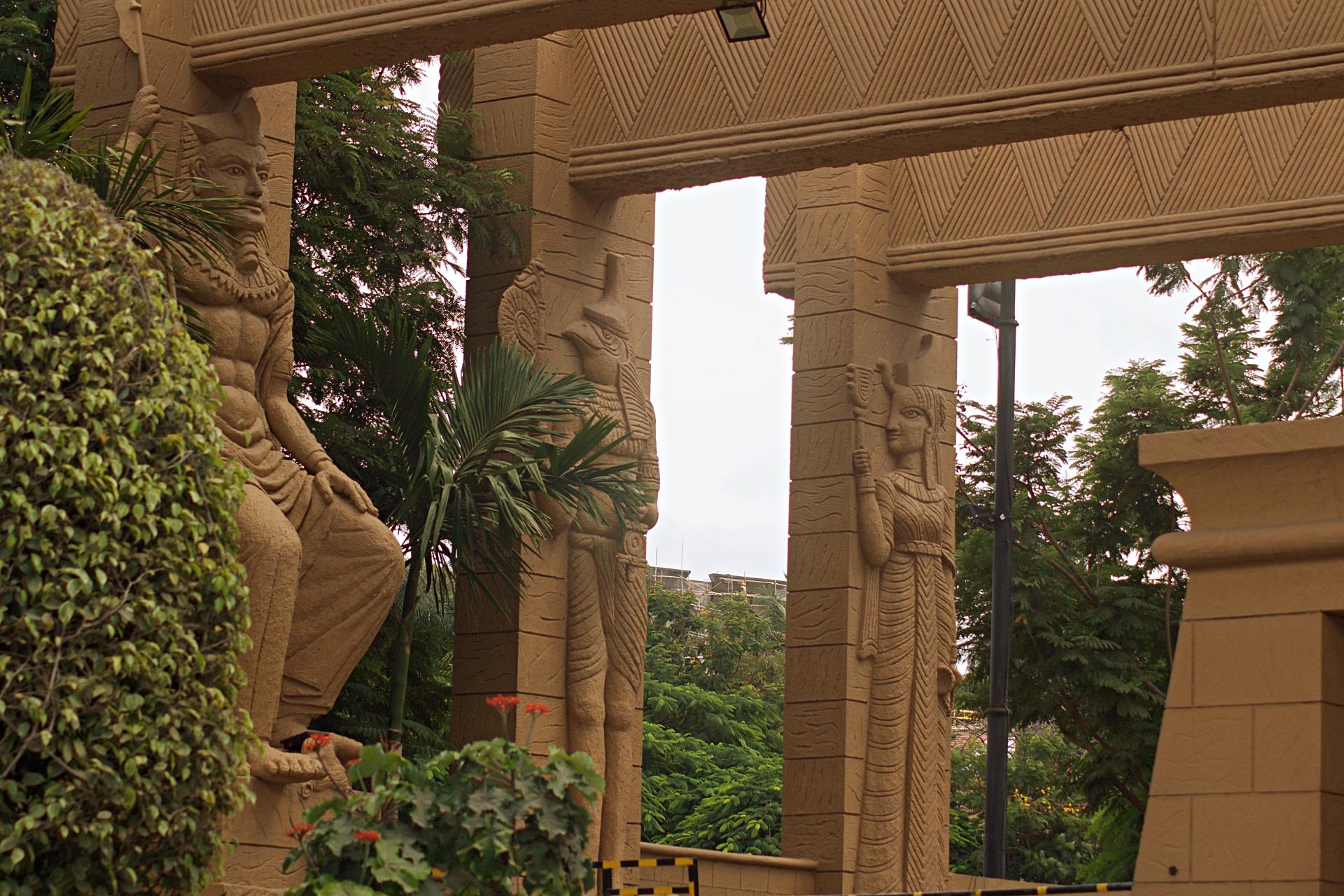 Egyptian Architecture The Corinthians Pune