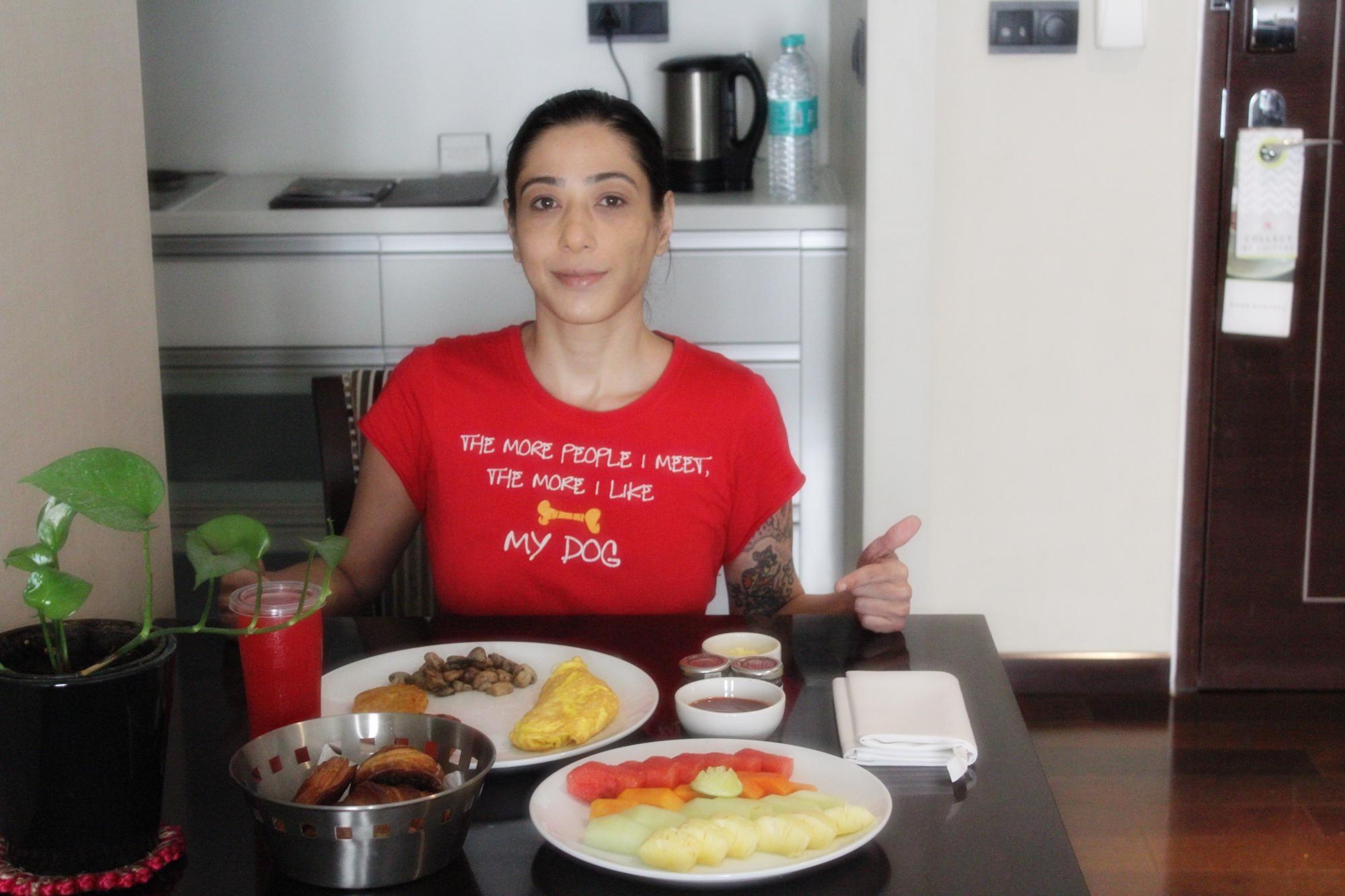 Marriott Suites Pune Breakfast