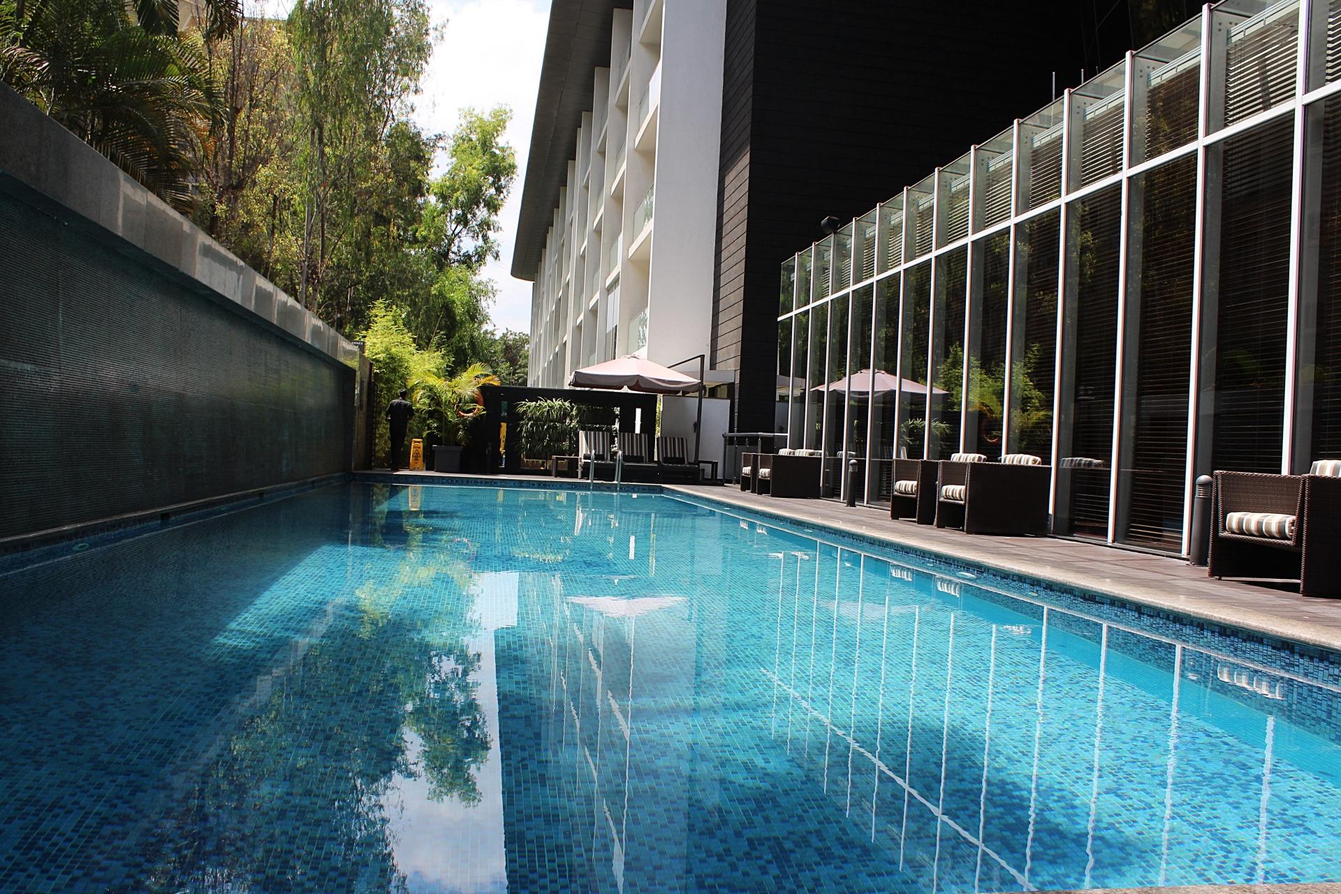 Marriott Suites Pune Outdoor Swimming Pool