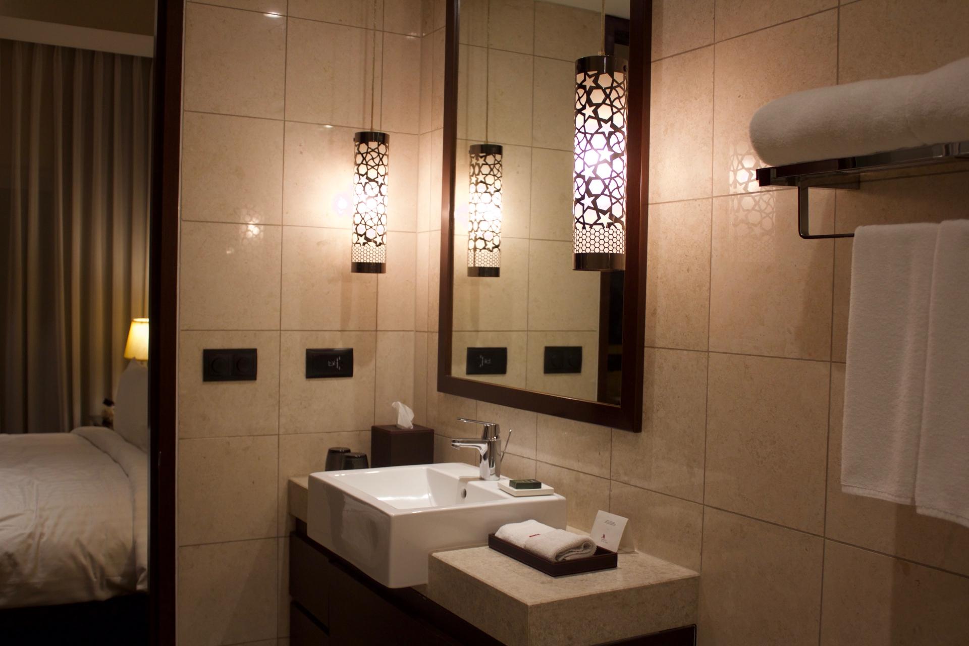 Marriott Suites Pune Washroom