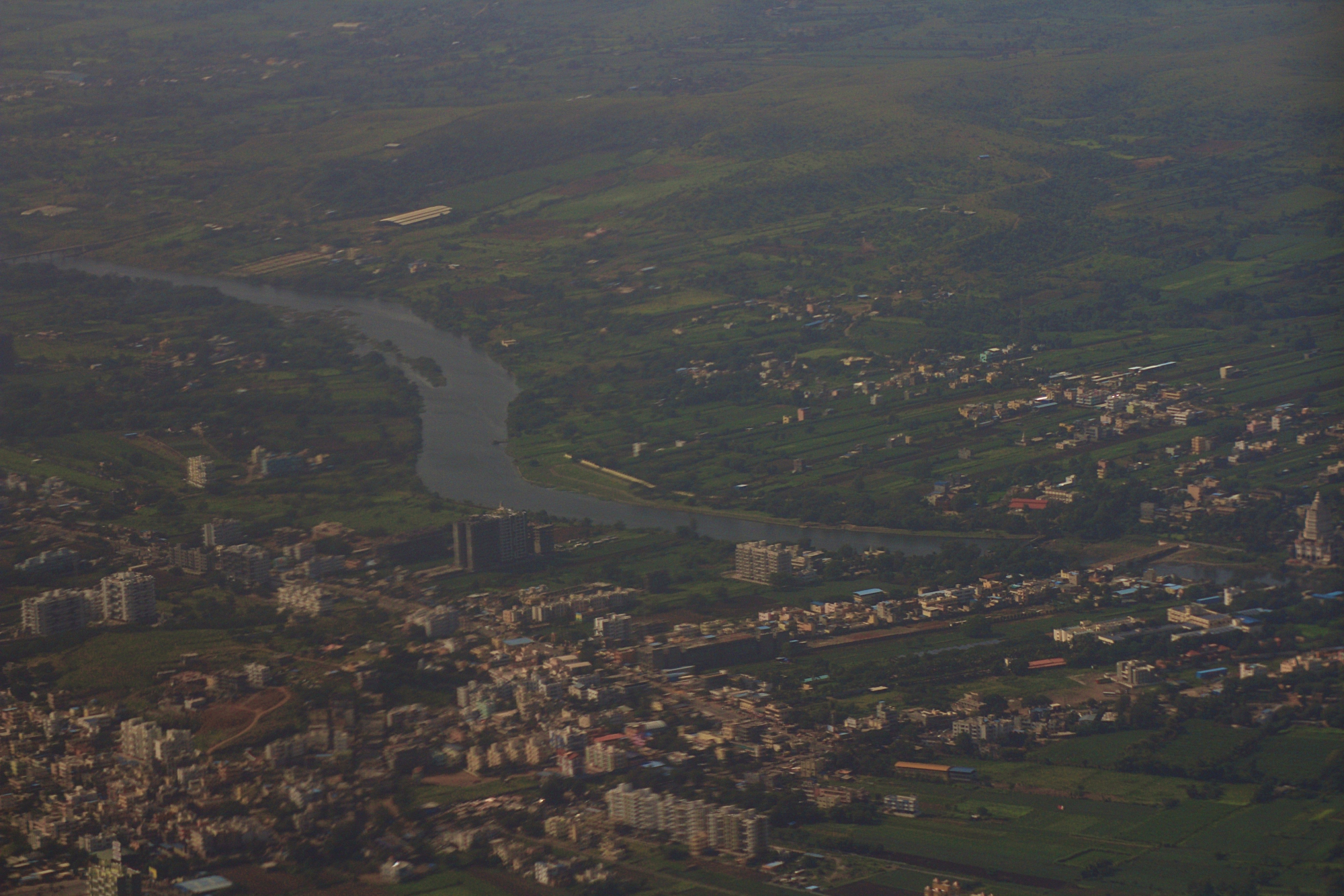 Pune Aerial View