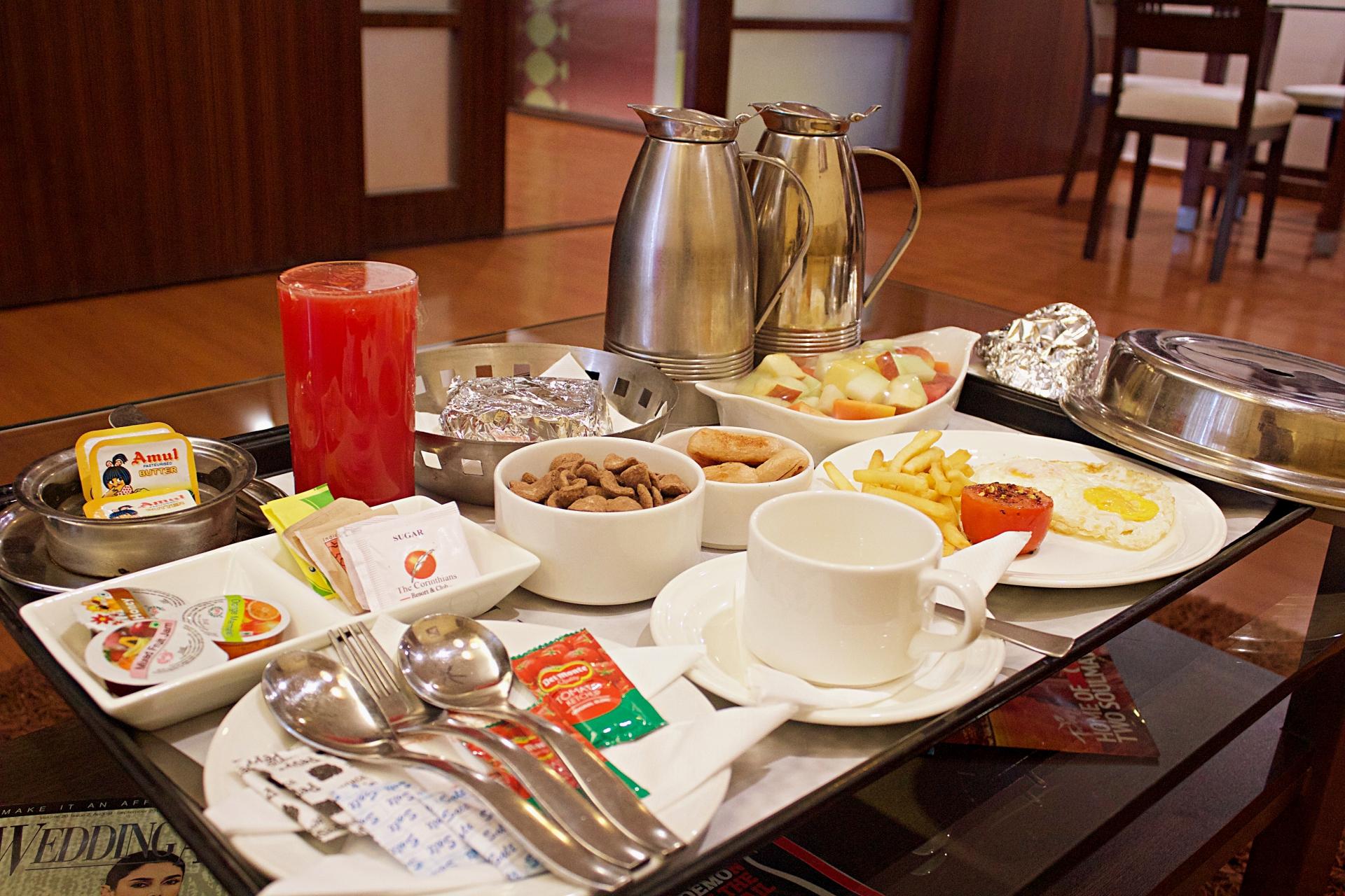 The Corinthians American Breakfast