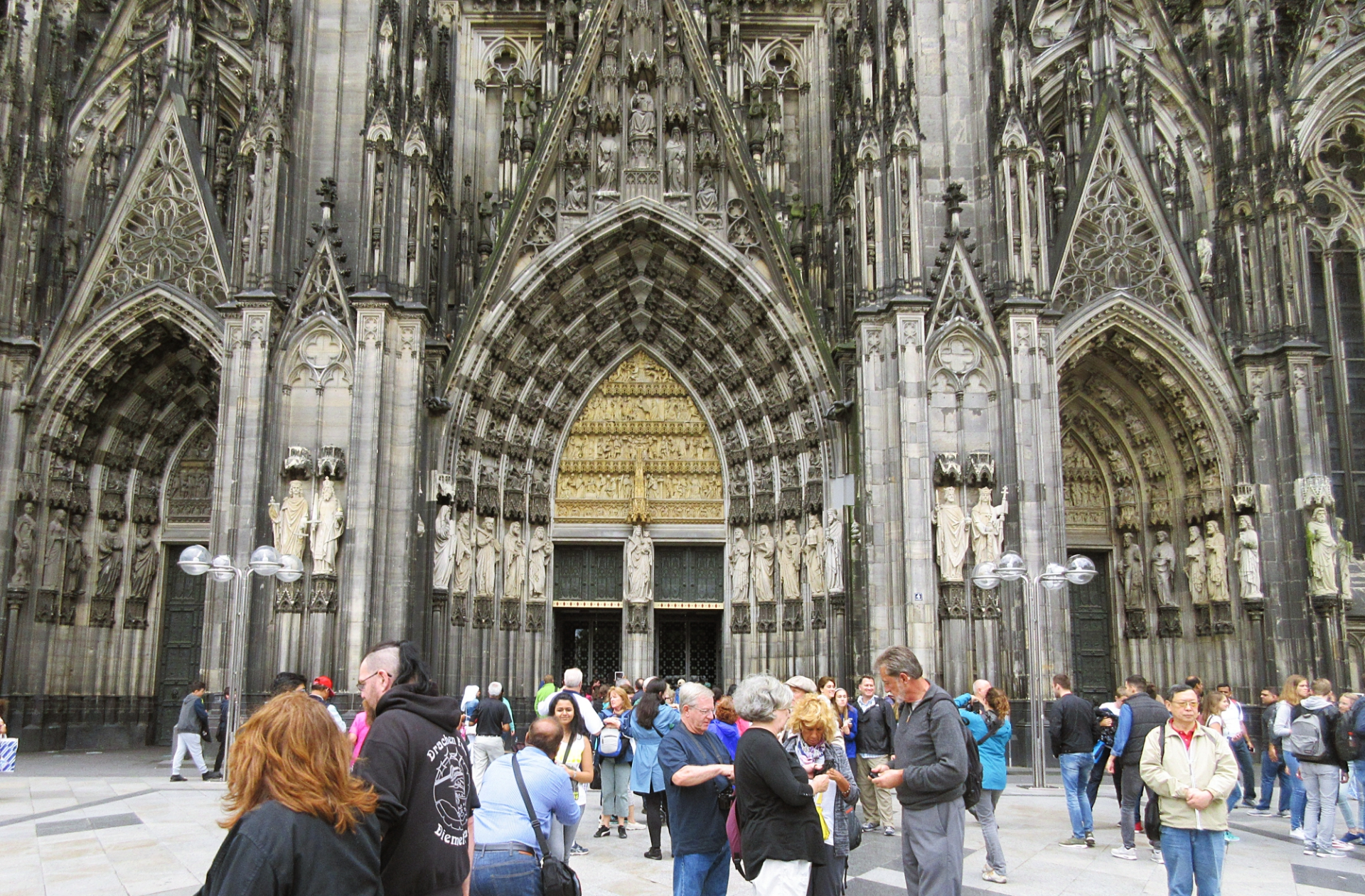 Cologne Catherdral Entrance