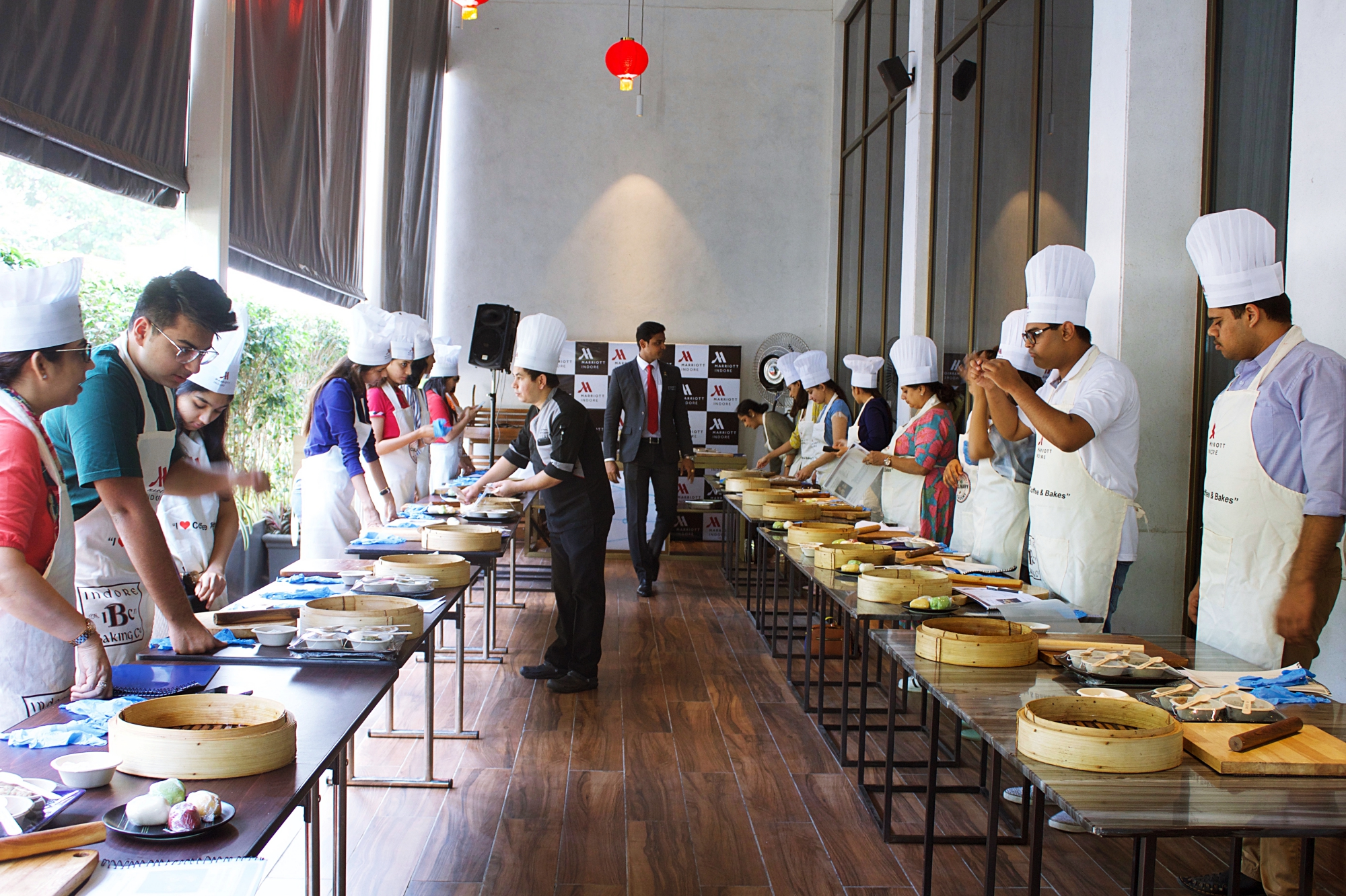 Indore Marriott Dimsum Classes