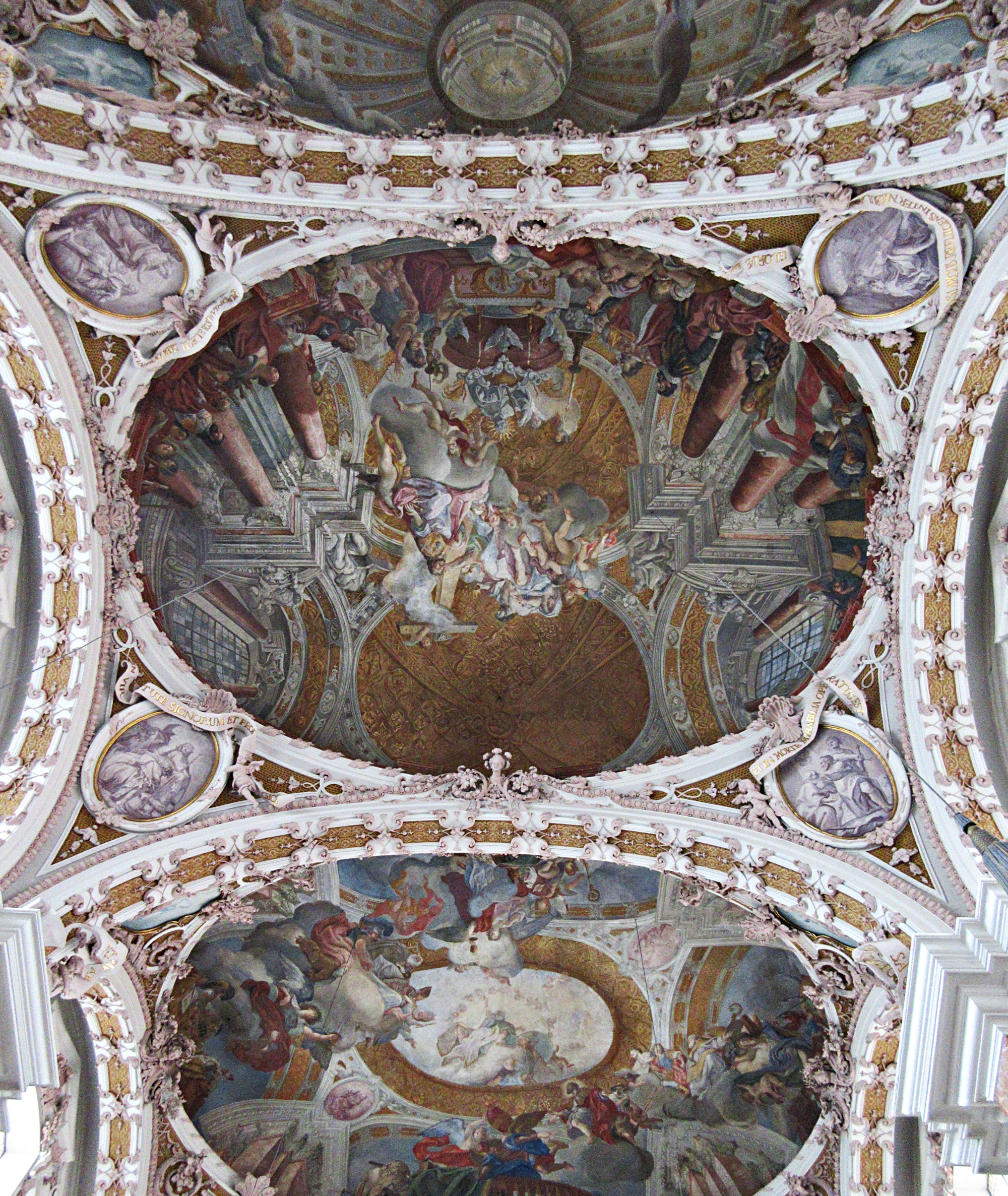 Innsbruck Cathedral Ceiling