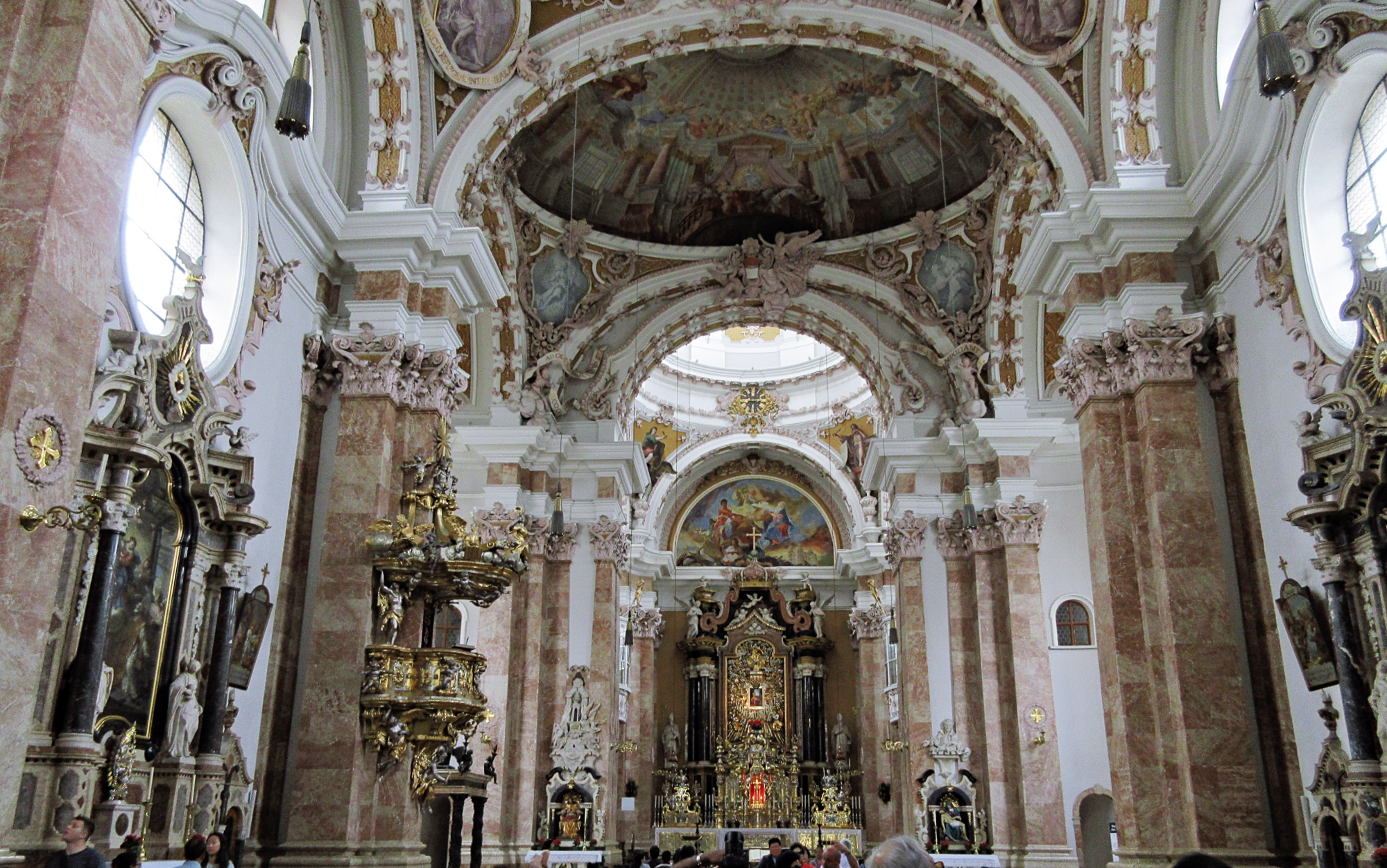 Innsbruck Cathedral Interiors
