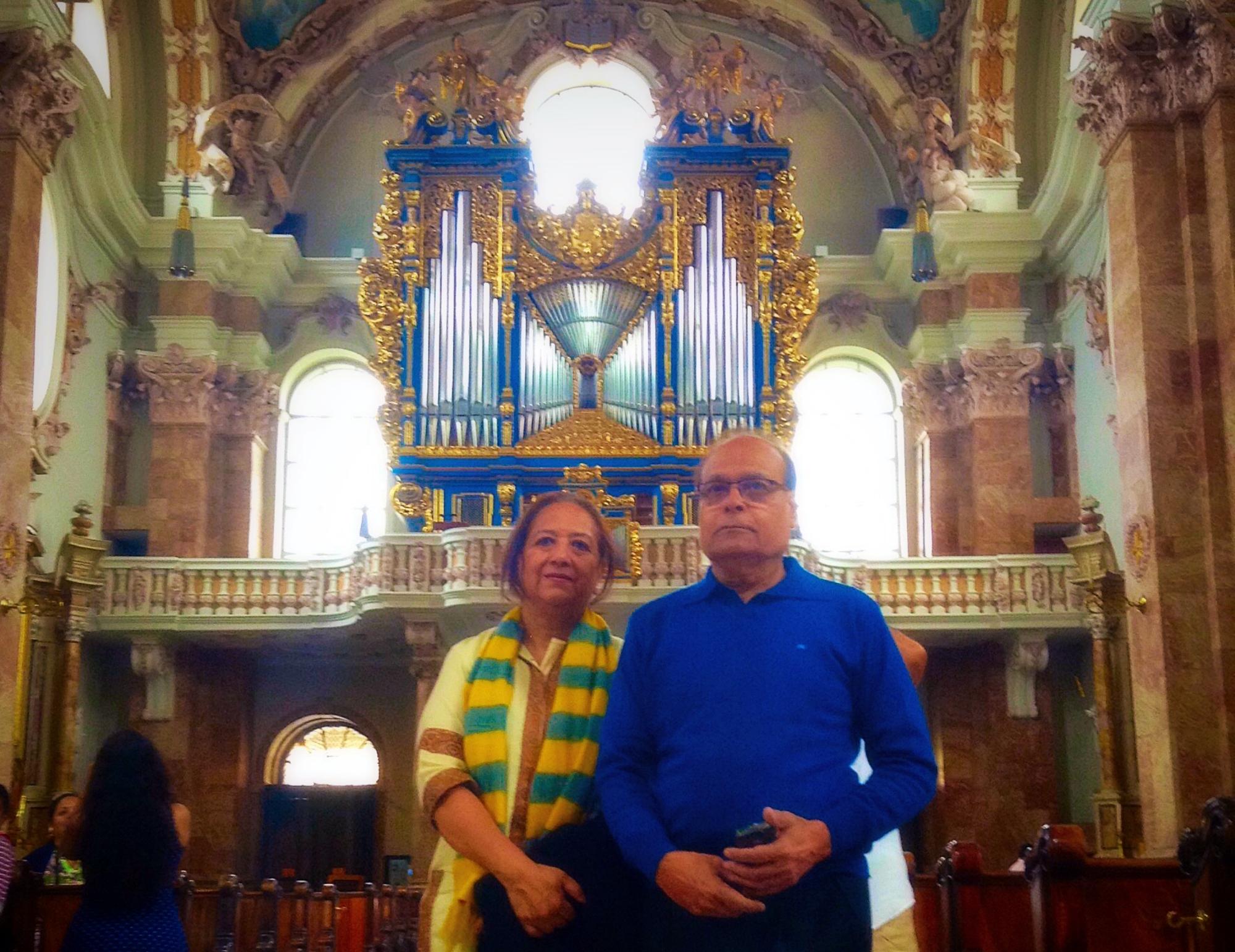 Innsbruck Cathedral Nihar Gite
