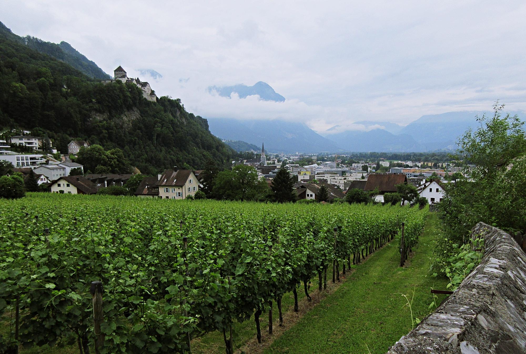 Liechtenstein Vaduz Castle Europe