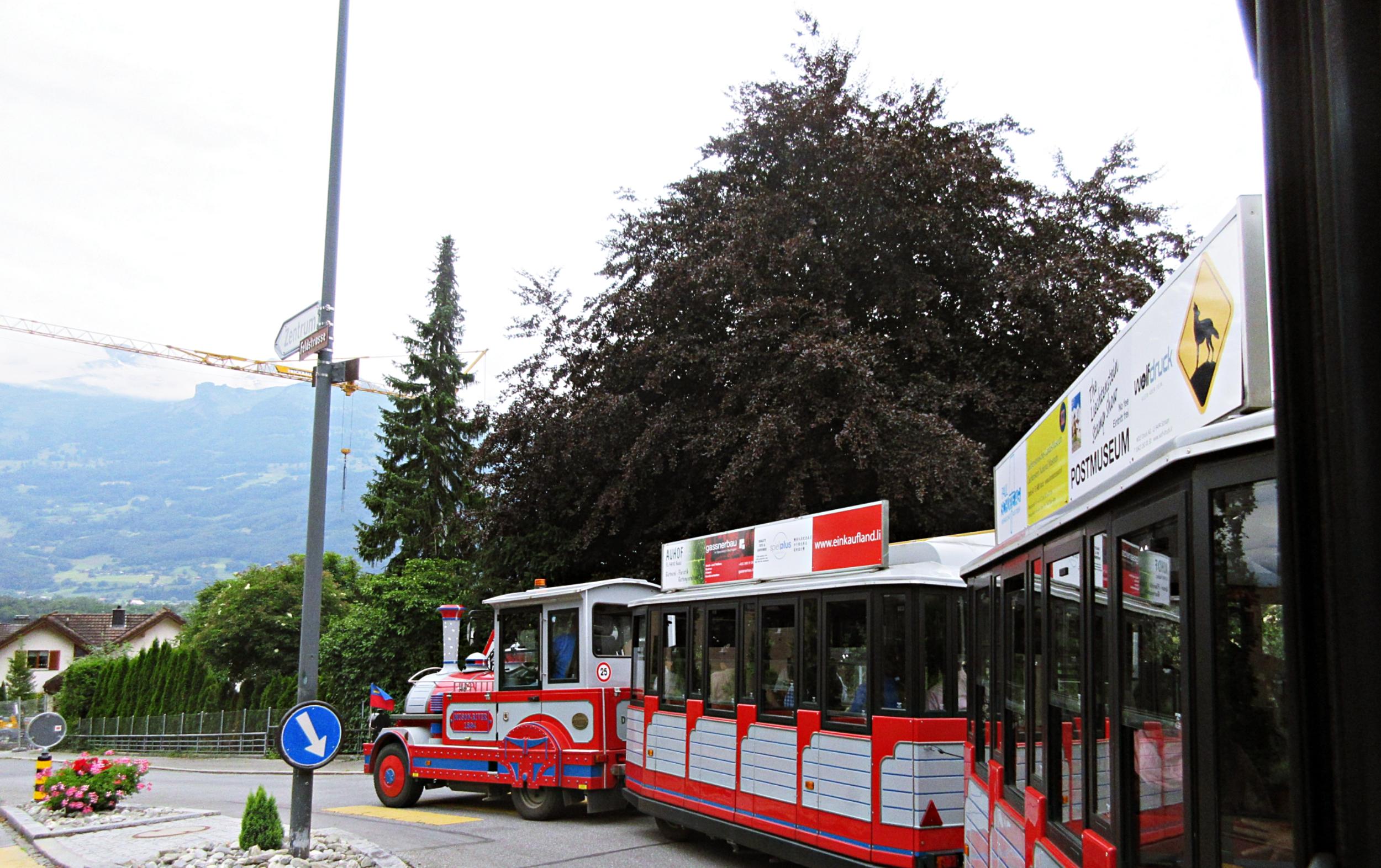 Liechtenstein Vaduz Tram
