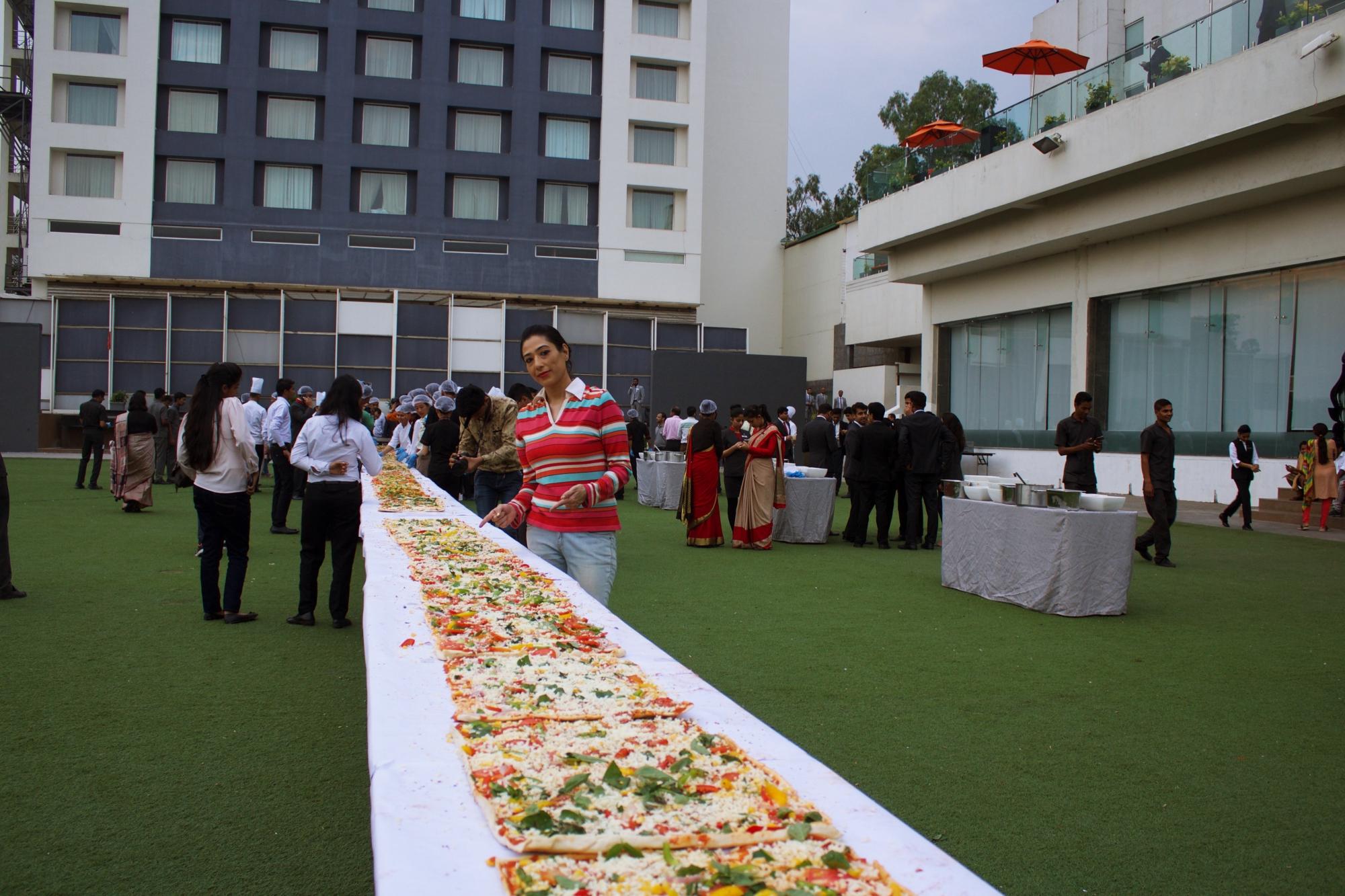 Marriott Indore LongestPizza