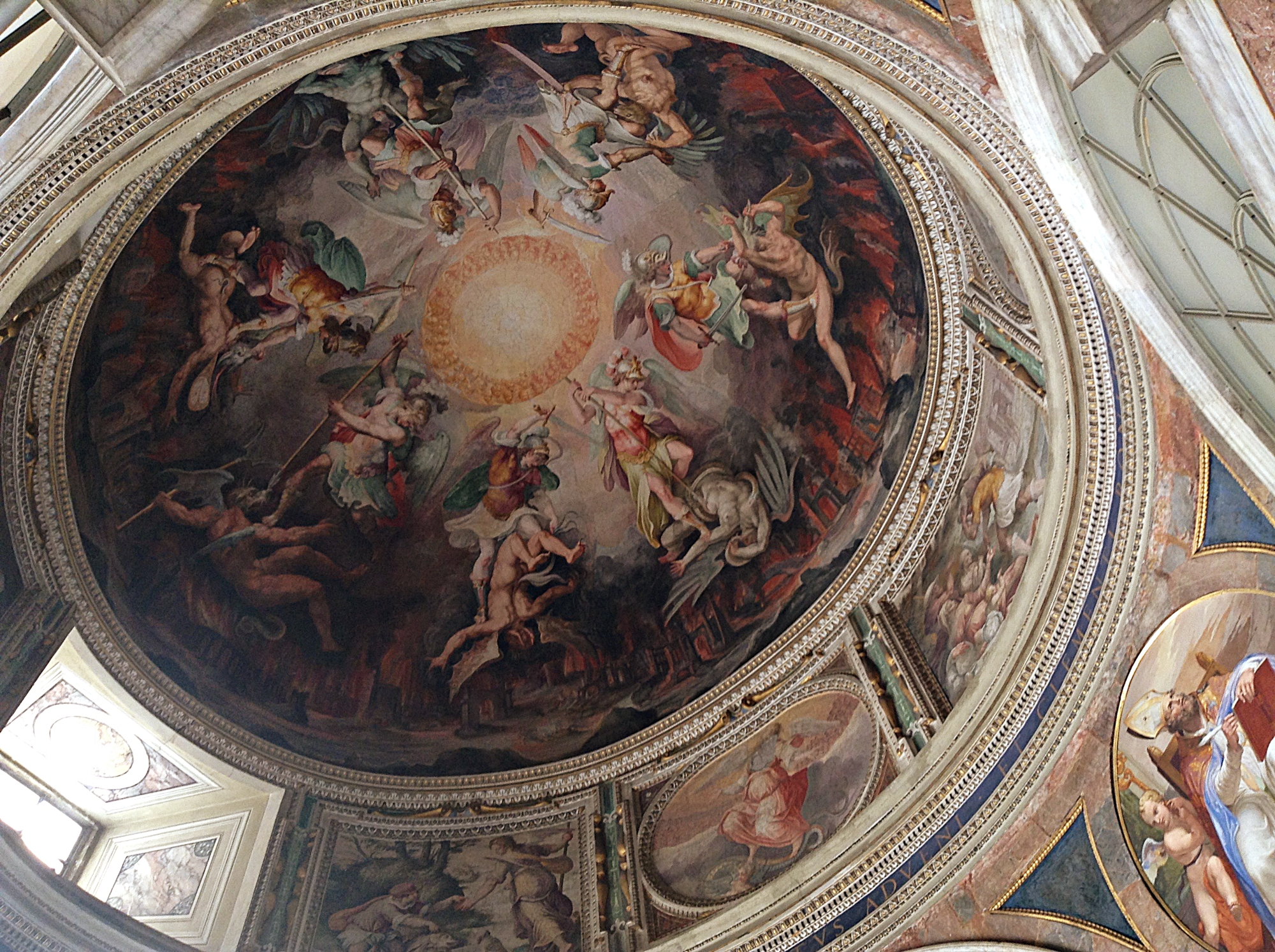 St. Peters Basilica Ceiling