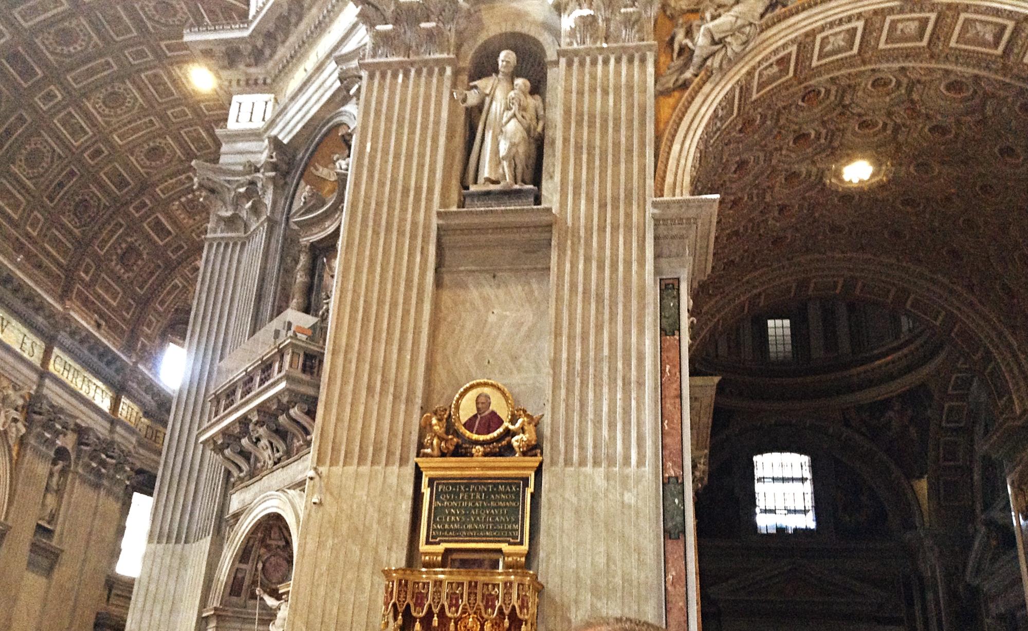 St. Peters Basilica Interiors