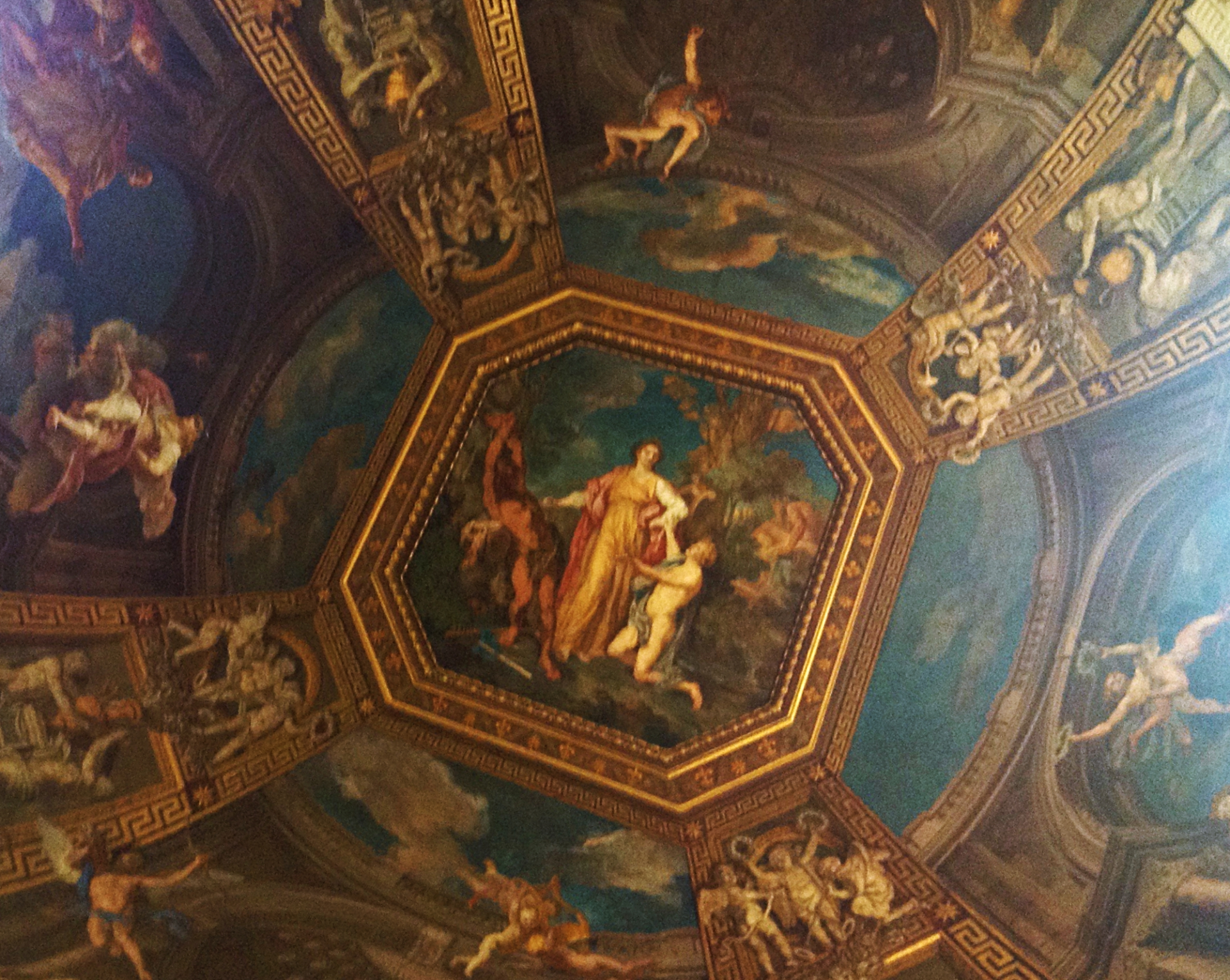 Vatican Museum Frescoes