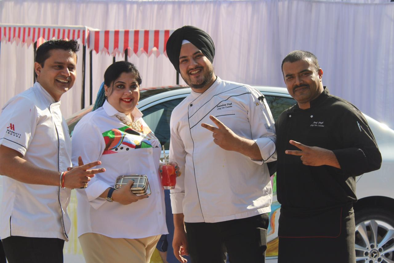 Indore Marriott Art Brunch Highlights