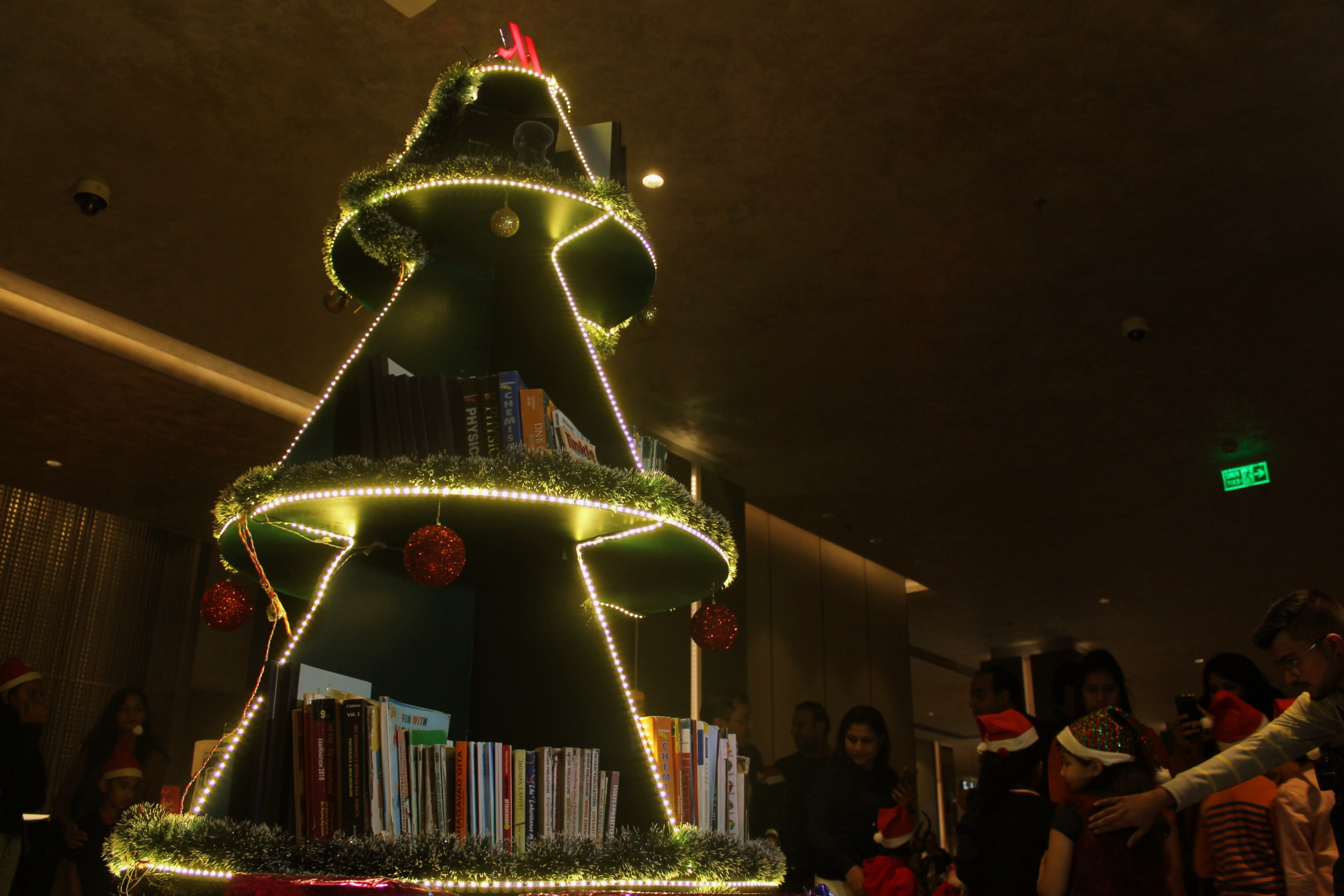 Indore Marriott Christmas Tree