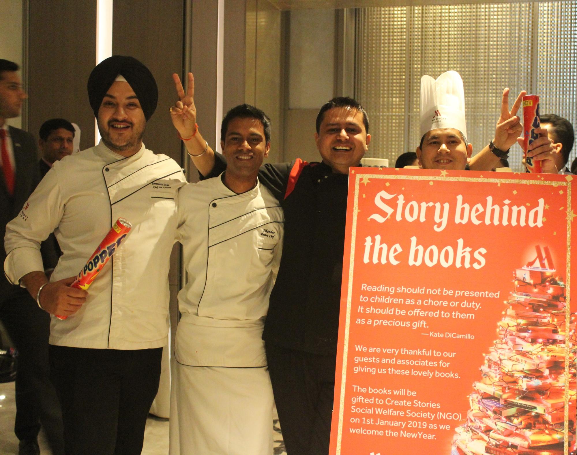 Indore Marriott Pastry Chefs