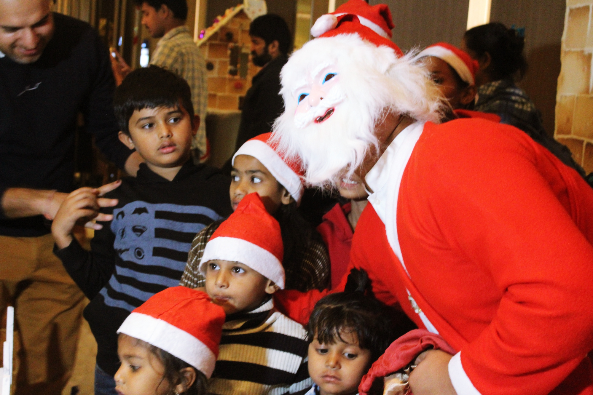 Indore Marriott Santa Claus