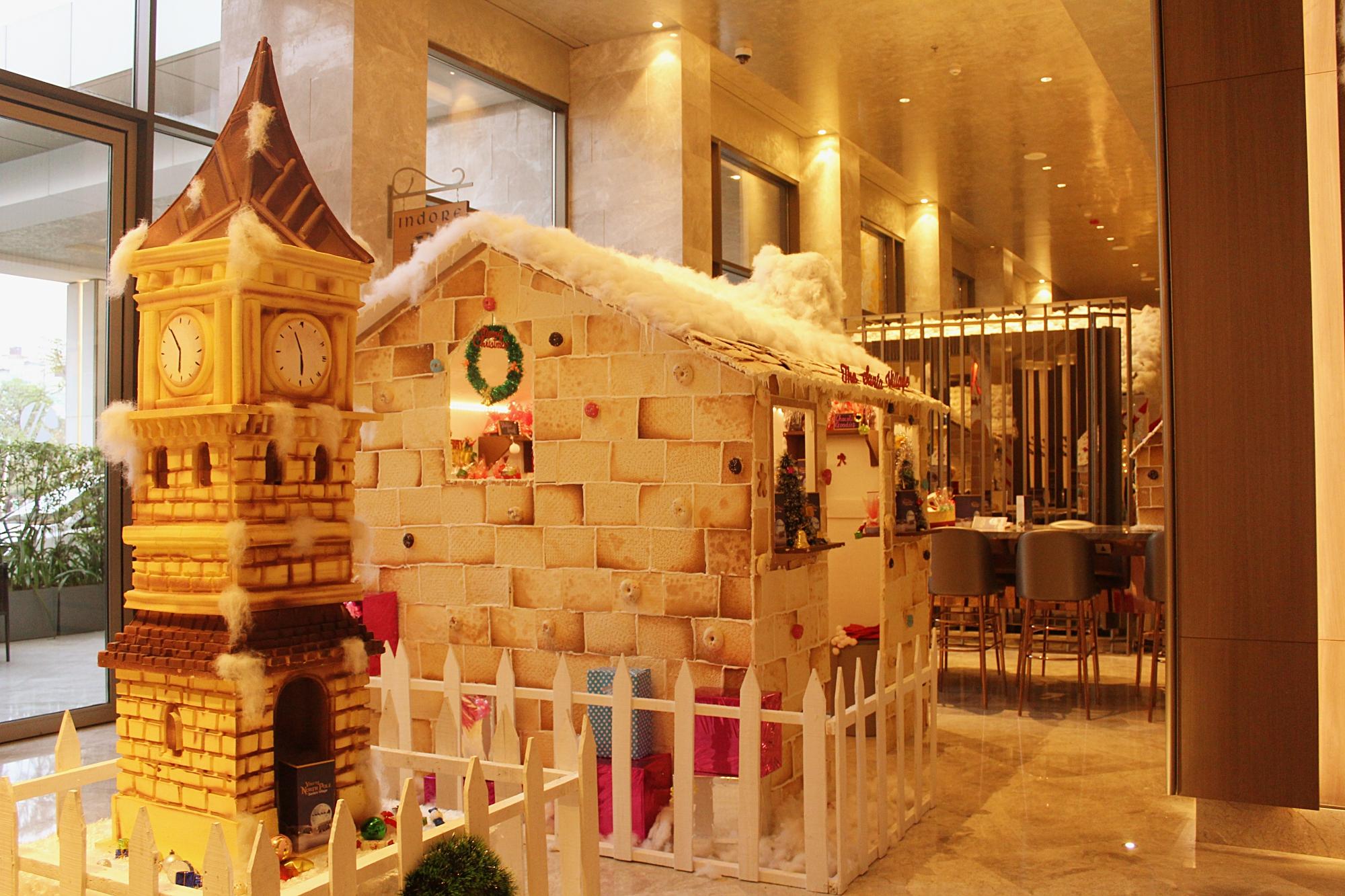 Inside Marriott Santa Village