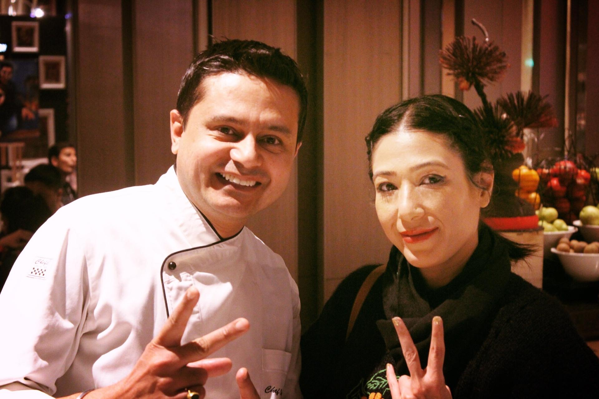 Chef Vivek Kalia Marriott
