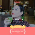 Holidify 2nd Runner Food and Travel