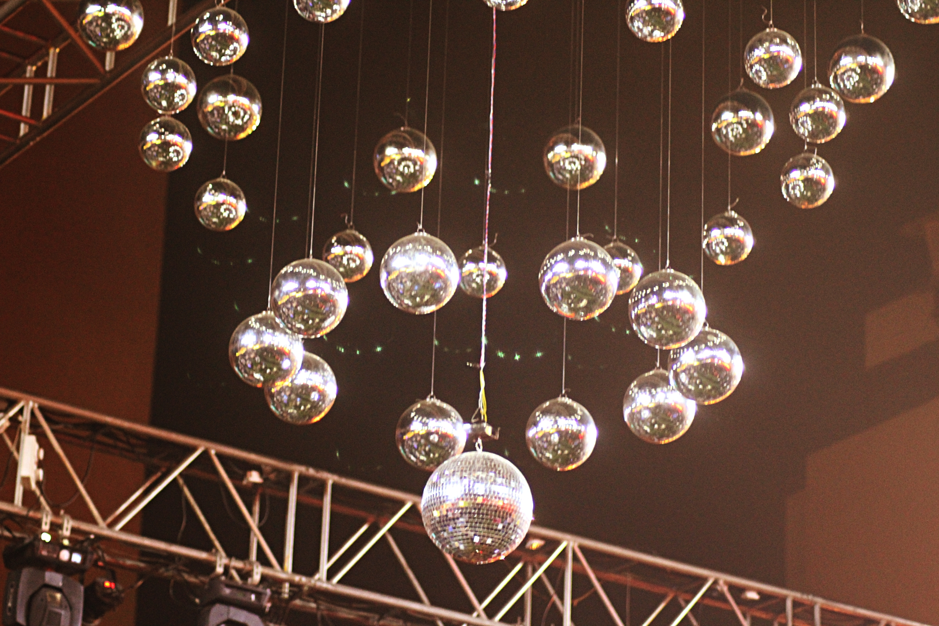 The Big Bang Indore Shiny Disco Balls