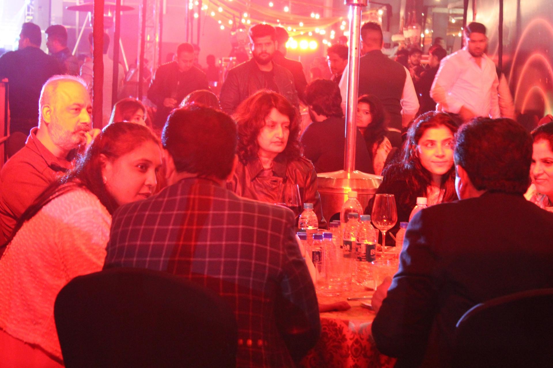 The Big Bang Indore VIP Table