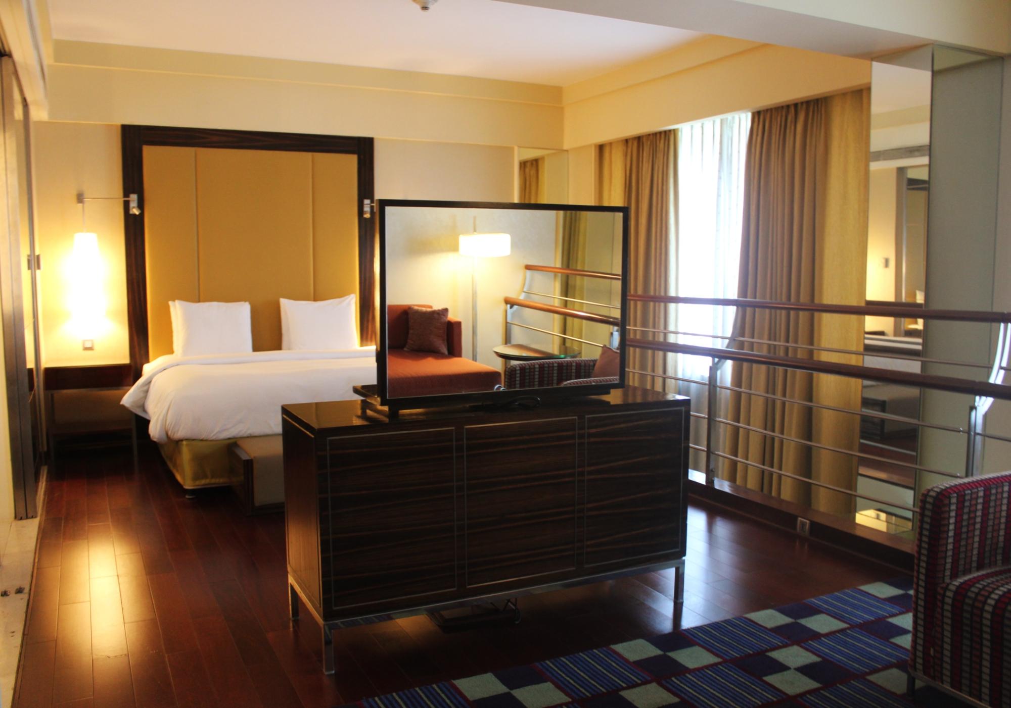 Renaissance Powai Lake Suite Master Bedroom
