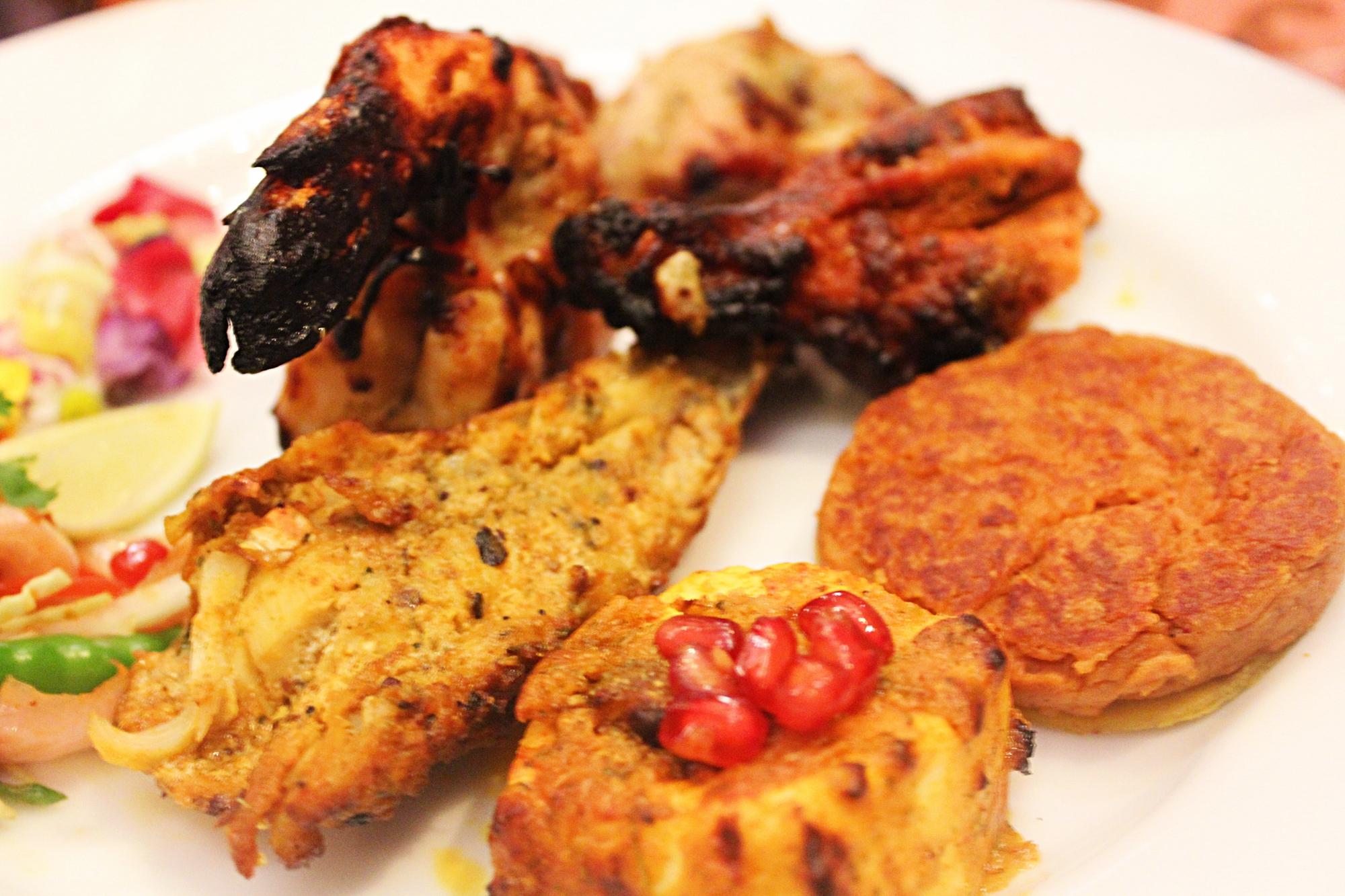 Nawab Saheb Mix and Match Set Menu Kebabs