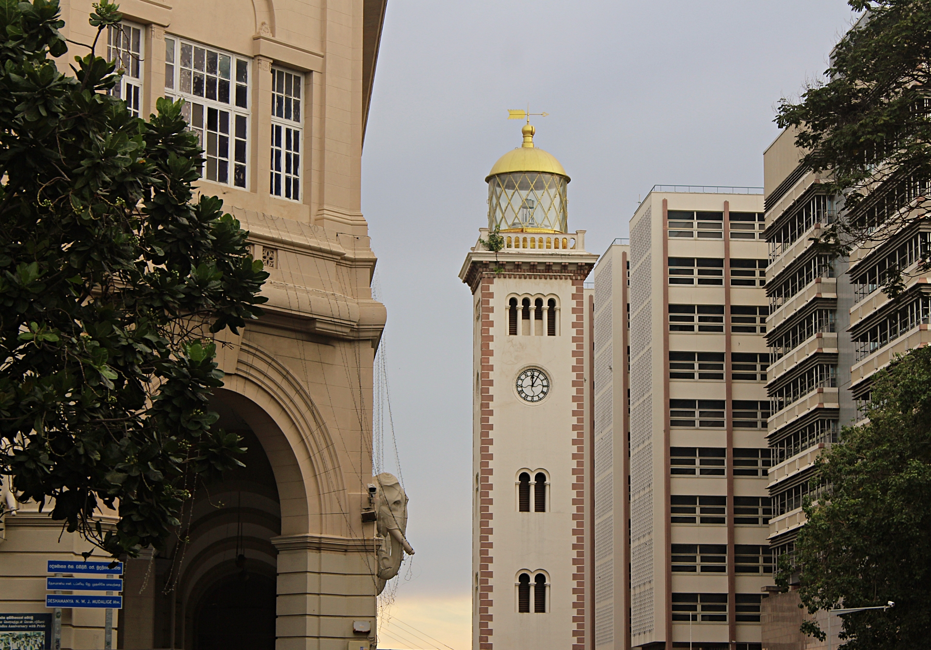Colombo Fort Clock Tower