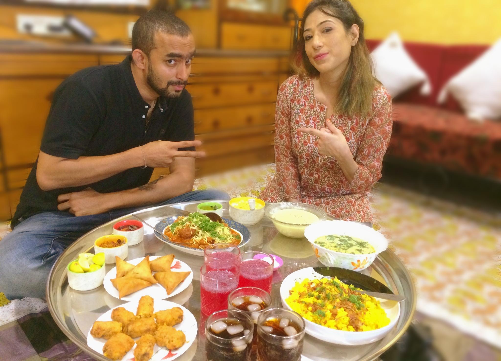 Aditya Khanolkar at the Bohri Kitchen