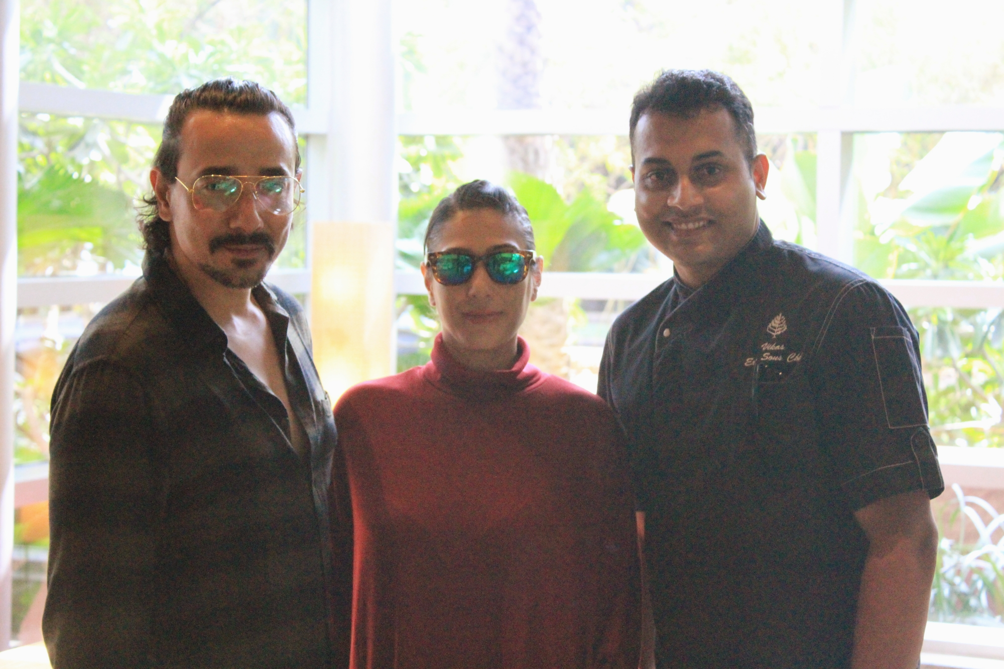 Mantra actor, Veidehi and Chef Vikas Singh