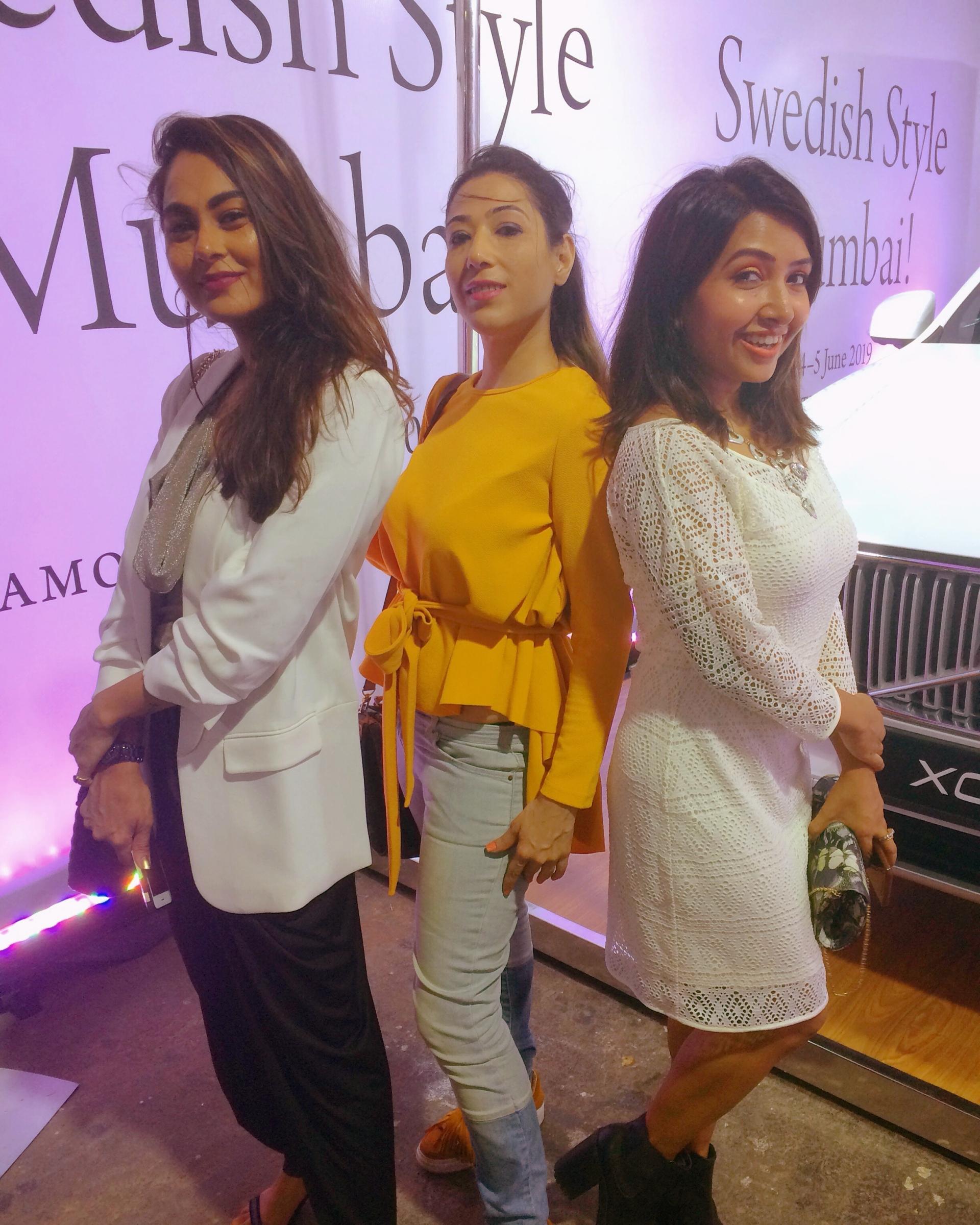 Neha Desai, Veidehi Gite and Sayanti Banerjee Swedish Style Mumbai