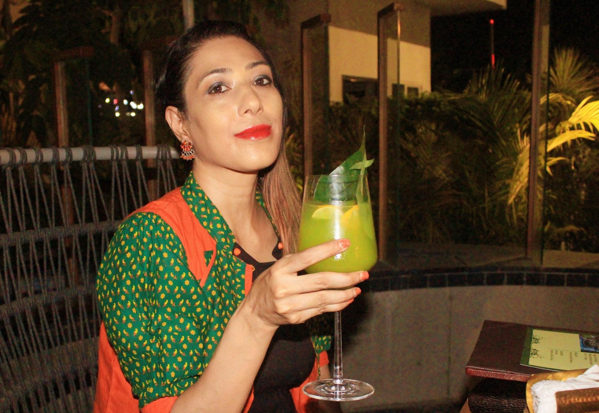 Paan Maharani cocktail 54 Praangan