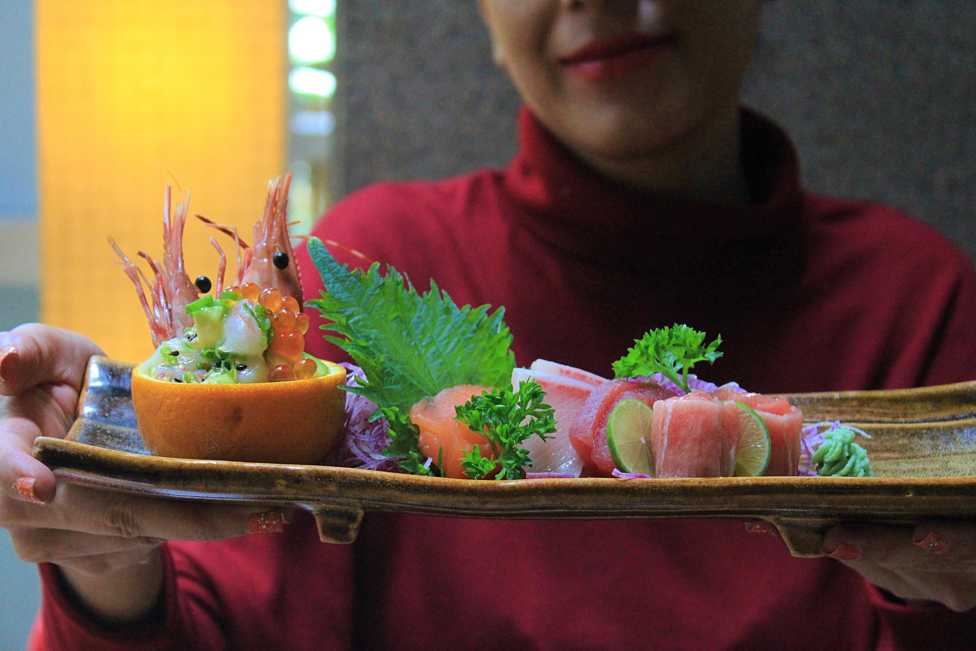 SanQi Sashimi platter