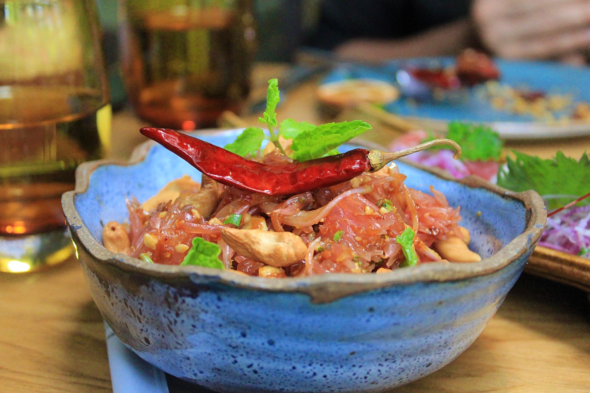 Thai Pomelo Salad San Qi